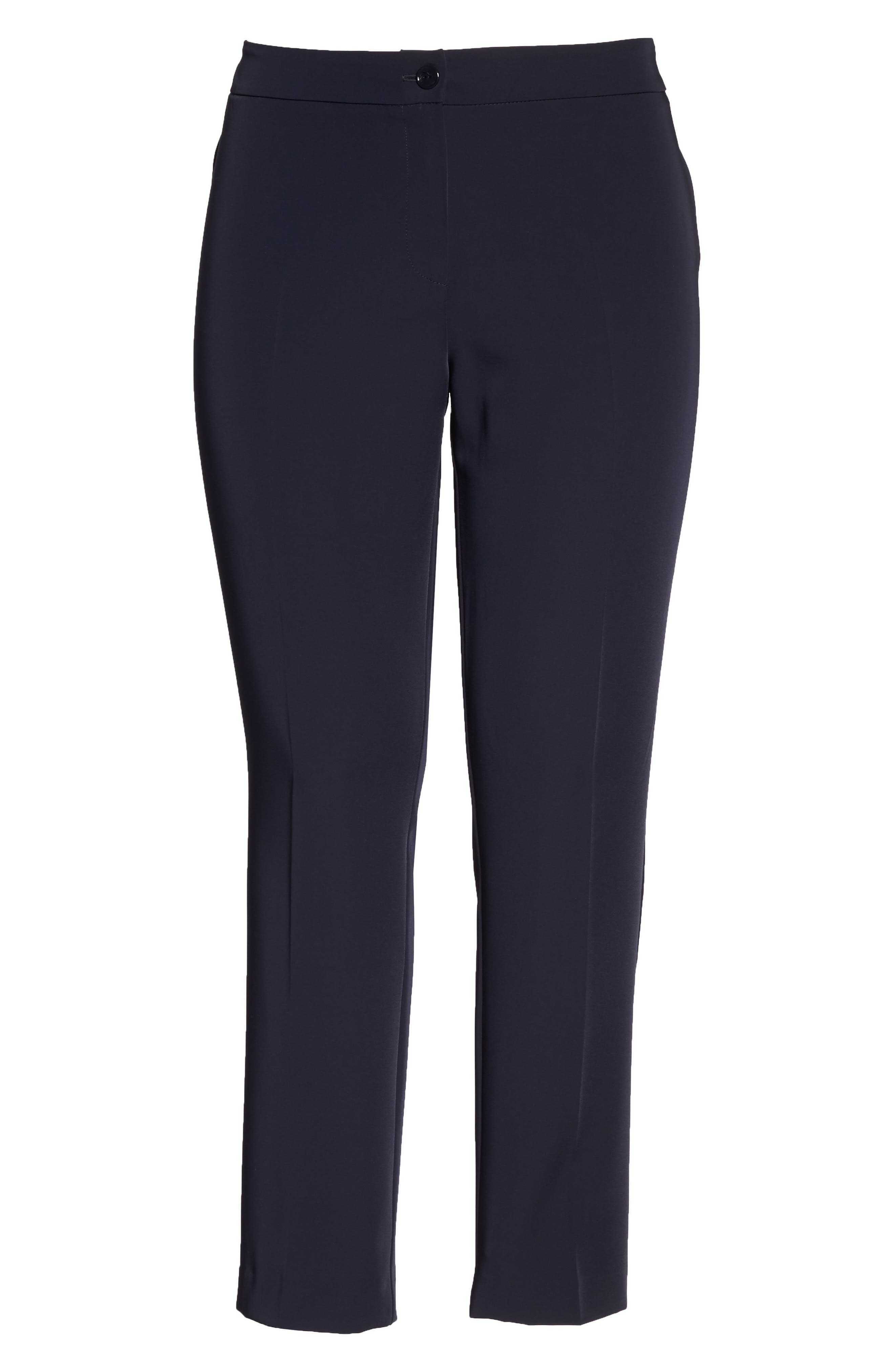 Slim Leg Pants,                             Alternate thumbnail 6, color,                             Dark Navy