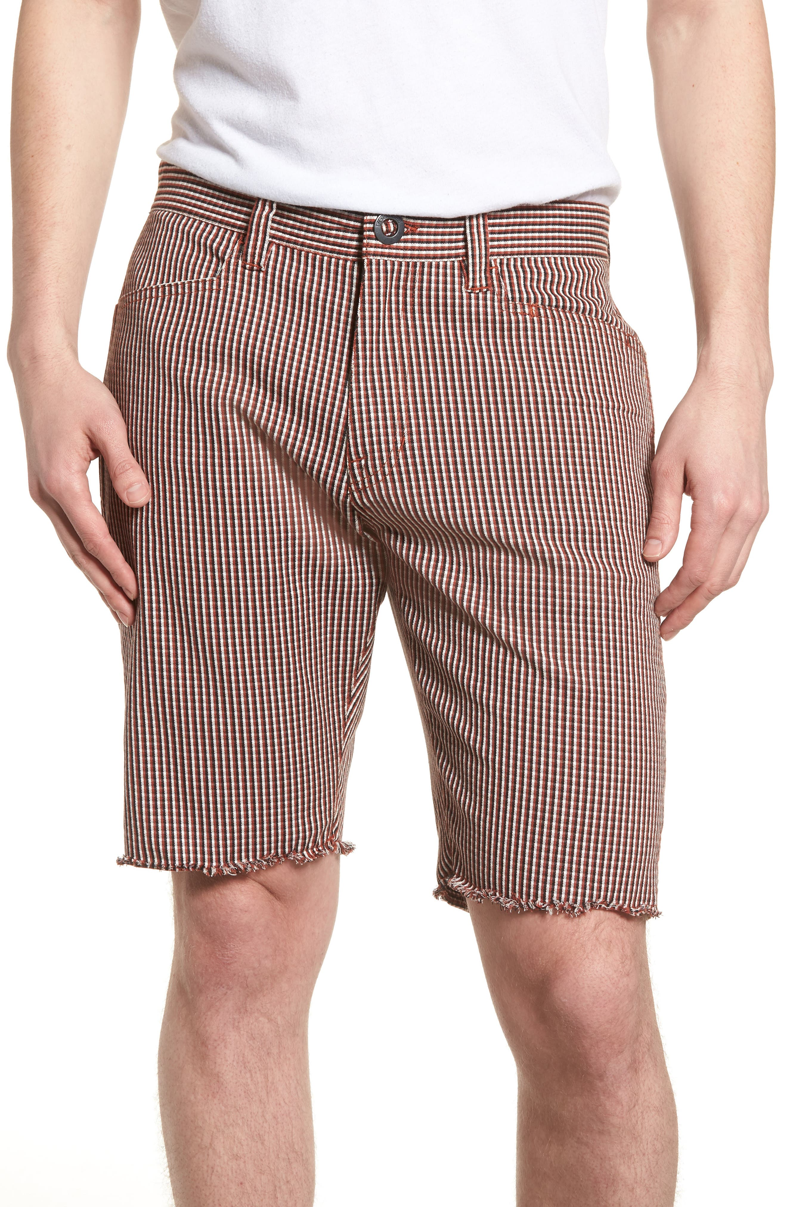 Gritter Thrifter Shorts,                         Main,                         color, Wild Ginger