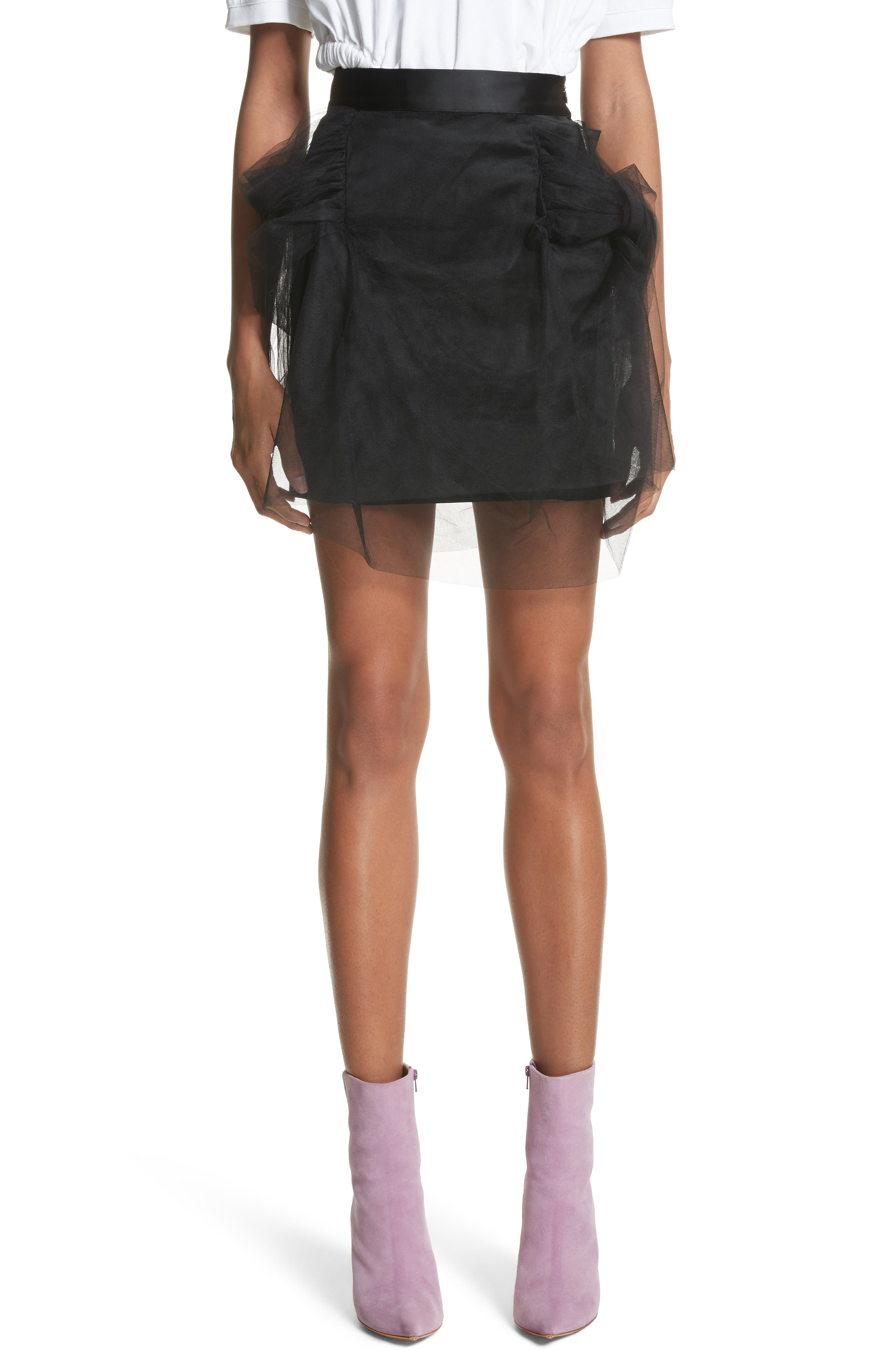 Alternate Image 1 Selected - Y/Project Tulle Miniskirt