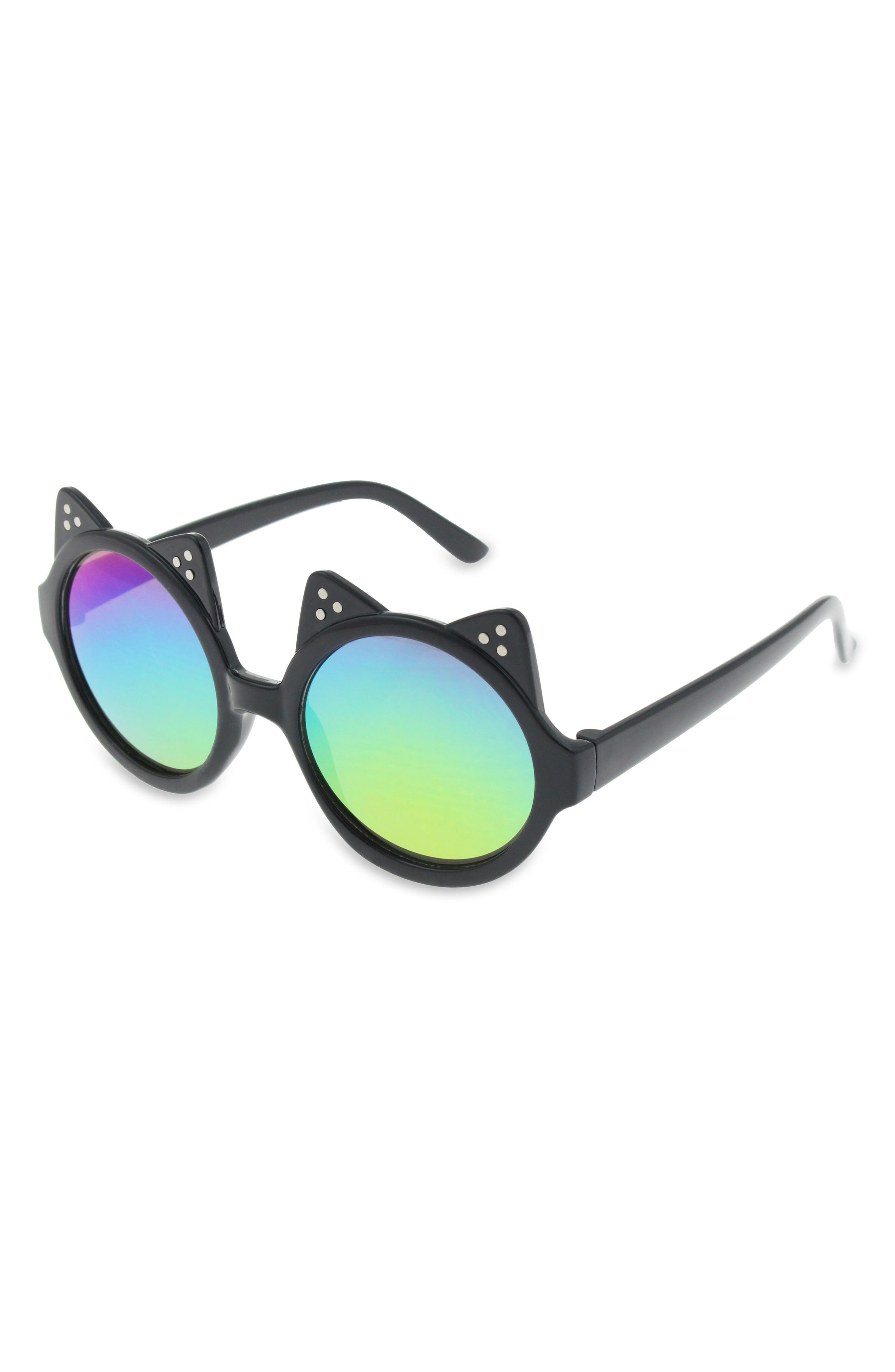 Main Image - Capelli New York Double Cat Ear Sunglasses (Girls)