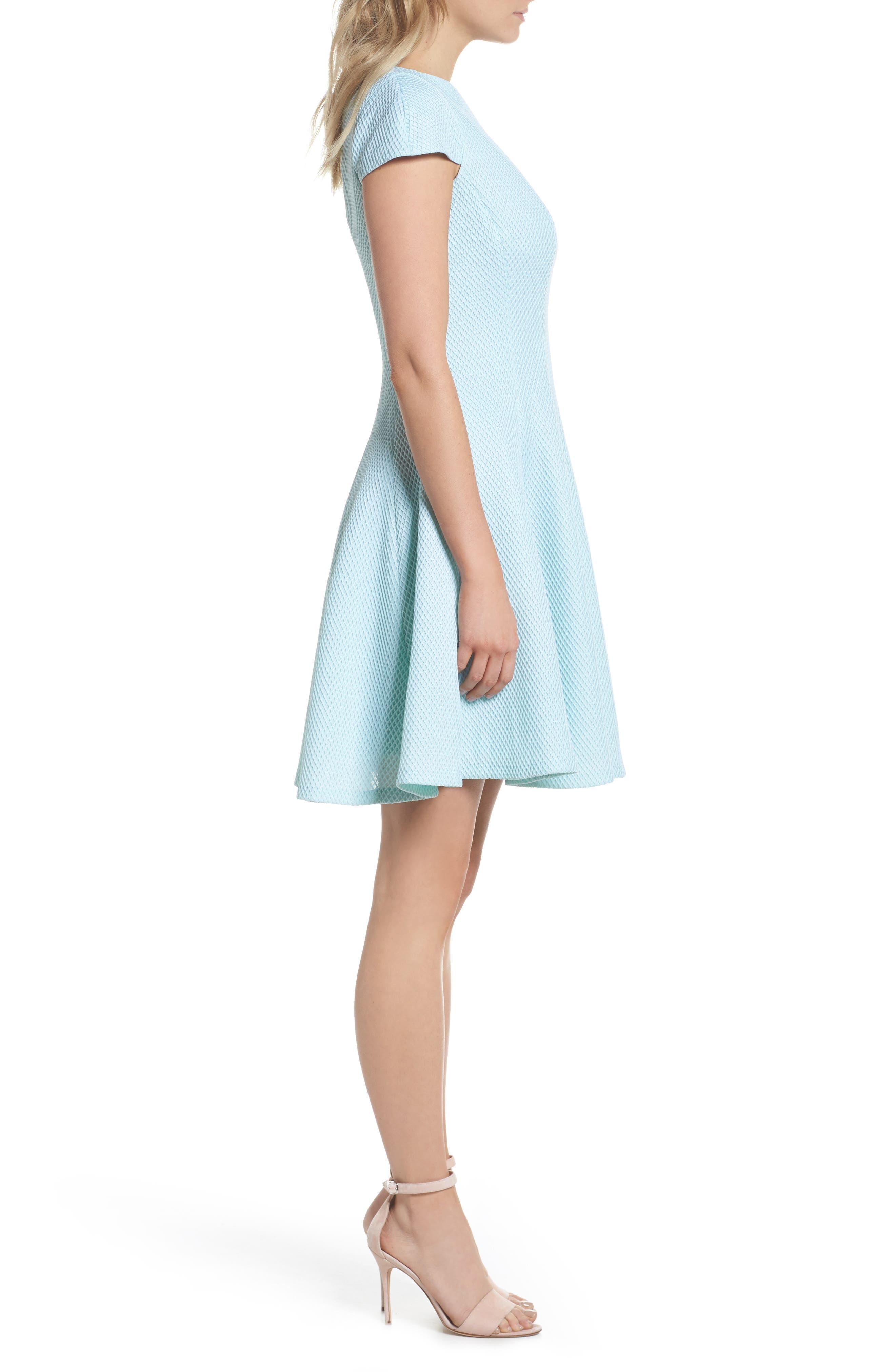 Alternate Image 3  - Julia Jordan Fit & Flare Dress