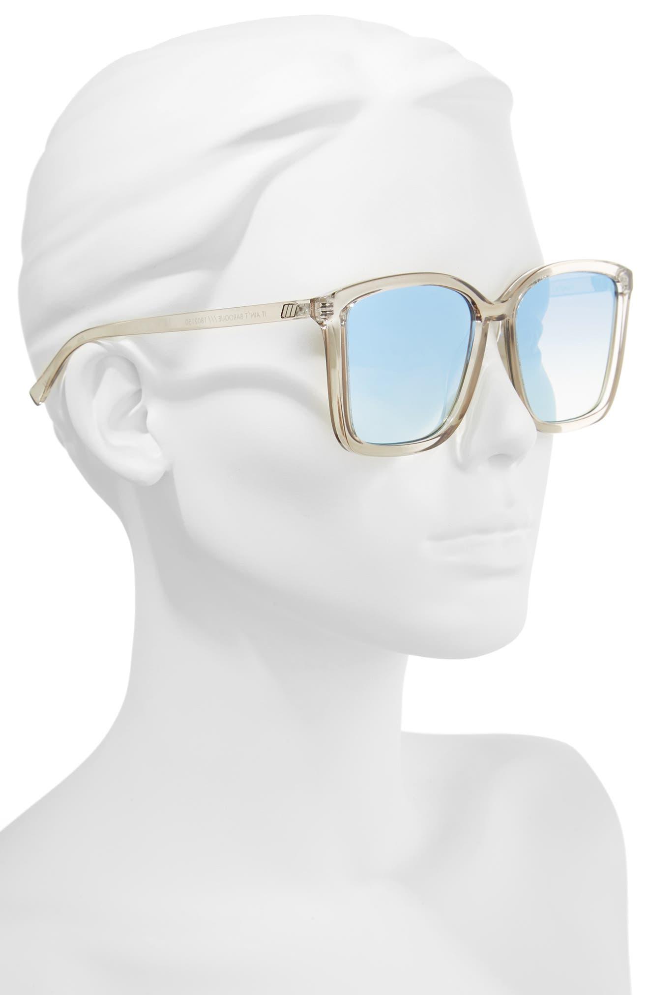 It Ain't Baroque 55mm Sunglasses,                             Alternate thumbnail 3, color,                             Shadow