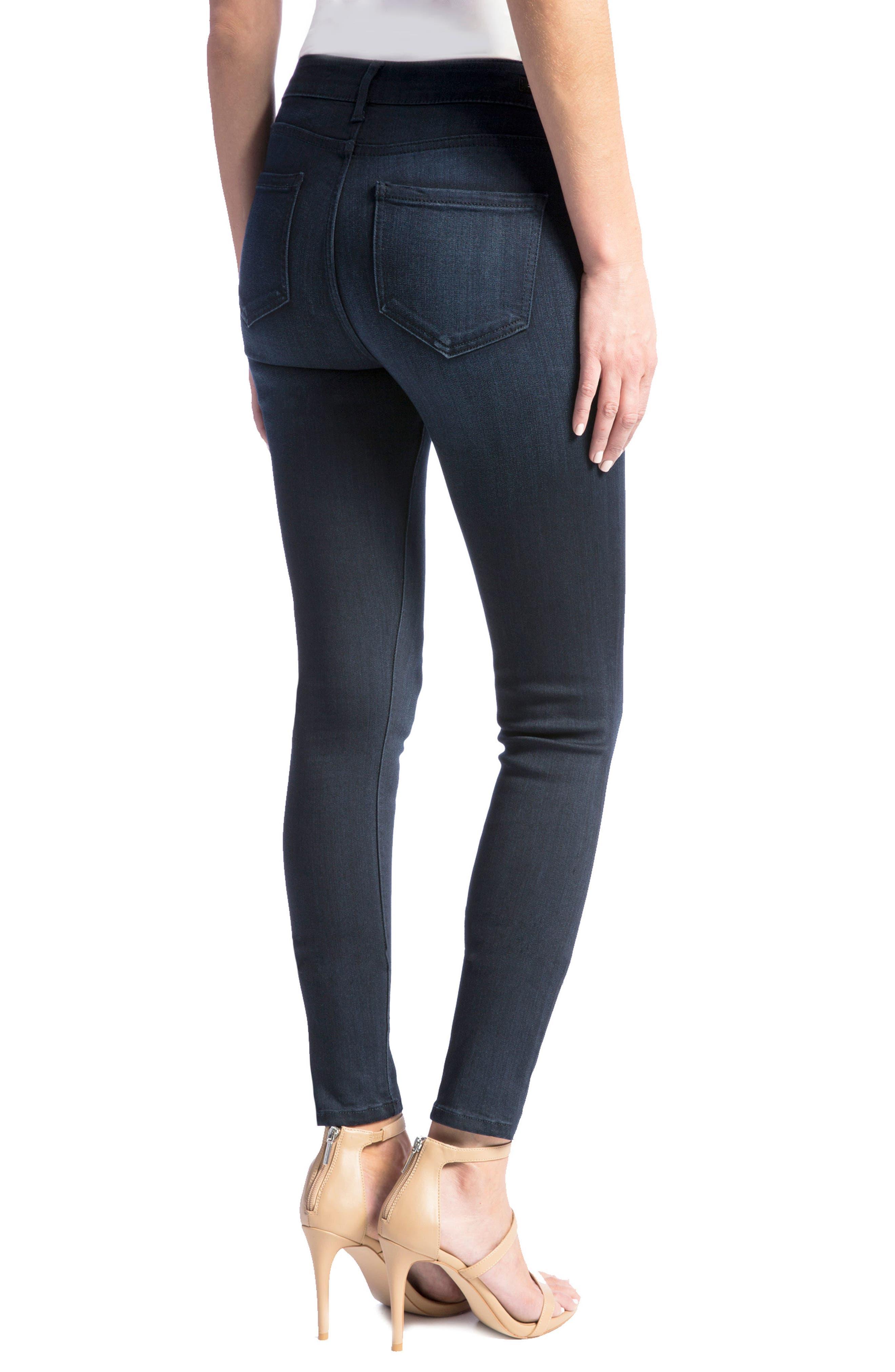 Abby Skinny Jeans,                             Alternate thumbnail 3, color,                             Stonewash