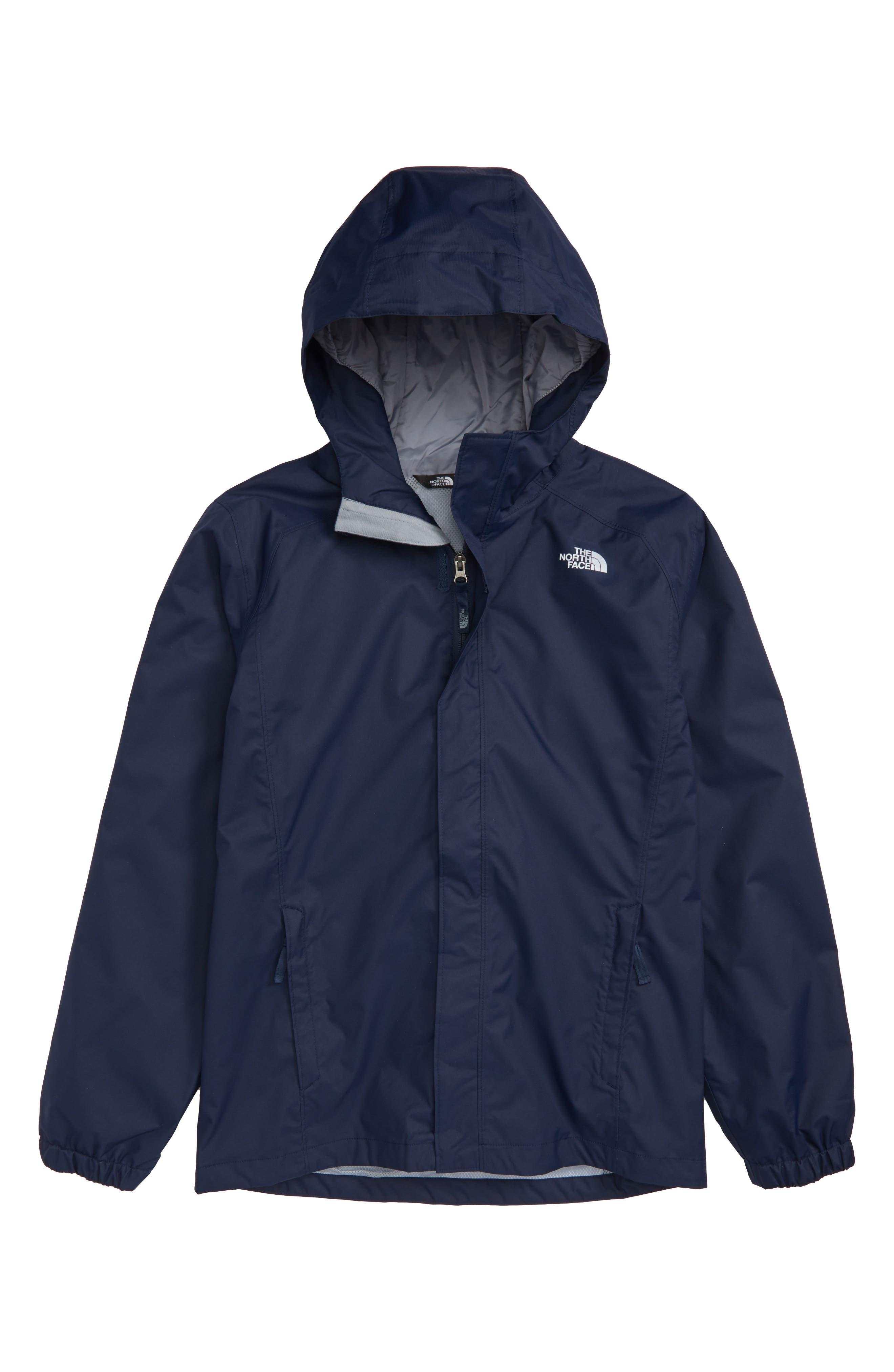 'Resolve' Waterproof Jacket,                         Main,                         color, Cosmic Blue/ Cosmic Blue