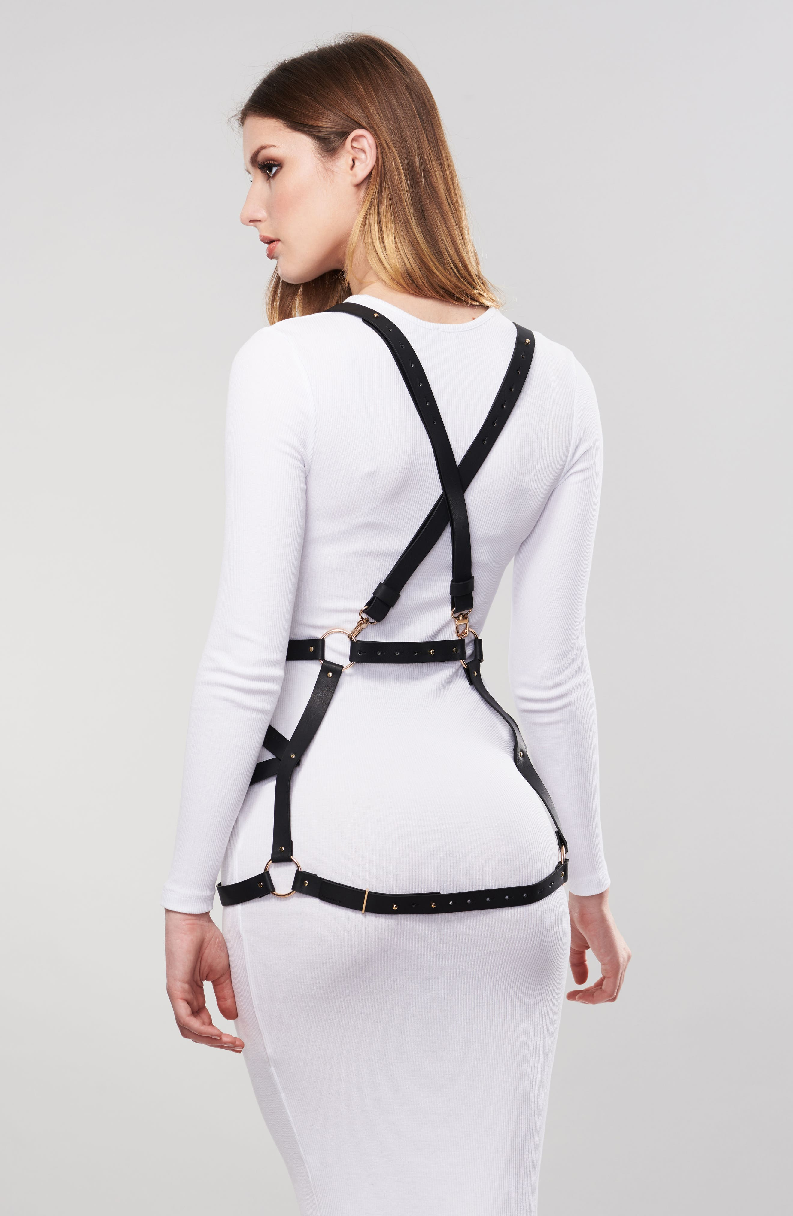 Alternate Image 3  - Bijoux Indiscrets Maze Arrow Dress Harness