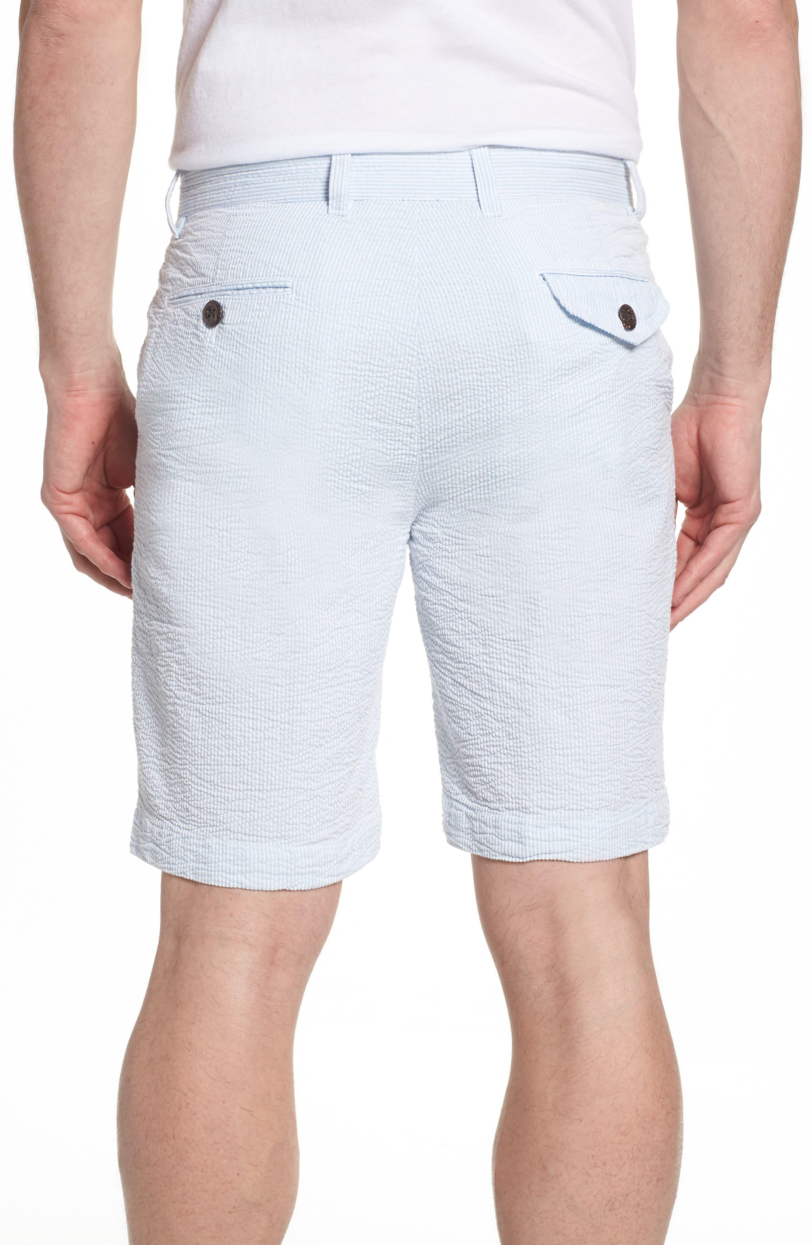Alternate Image 2  - Vintage 1946 Vintage Wash Seersucker Shorts