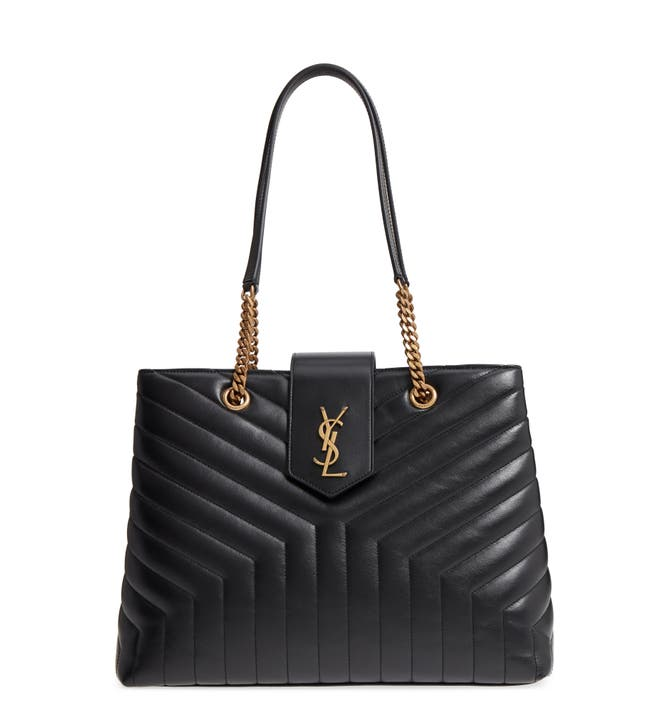Main Image - Saint Laurent Large LouLou Matelassé Leather Tote