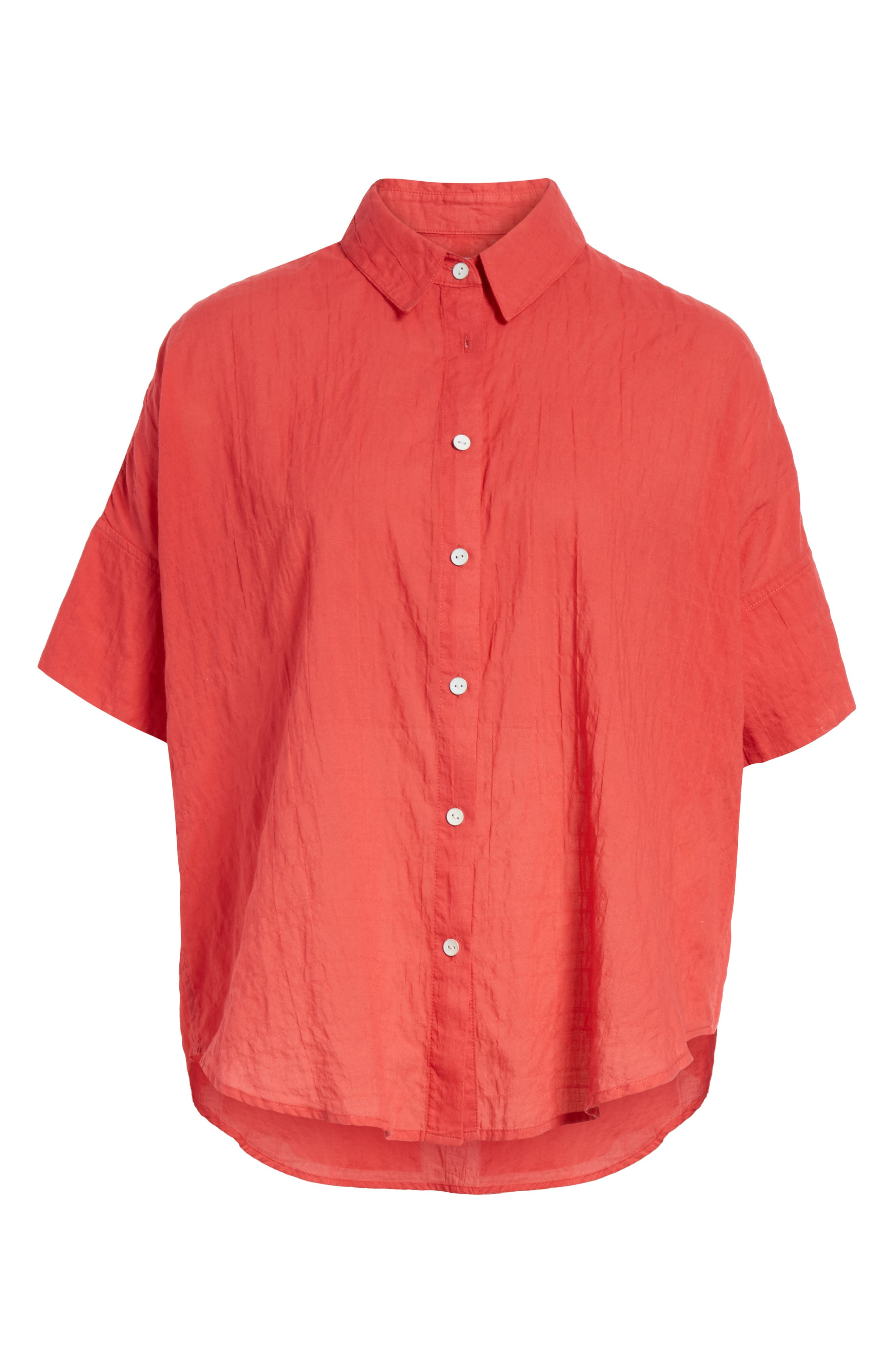 Tie Shirt,                             Alternate thumbnail 6, color,                             Red