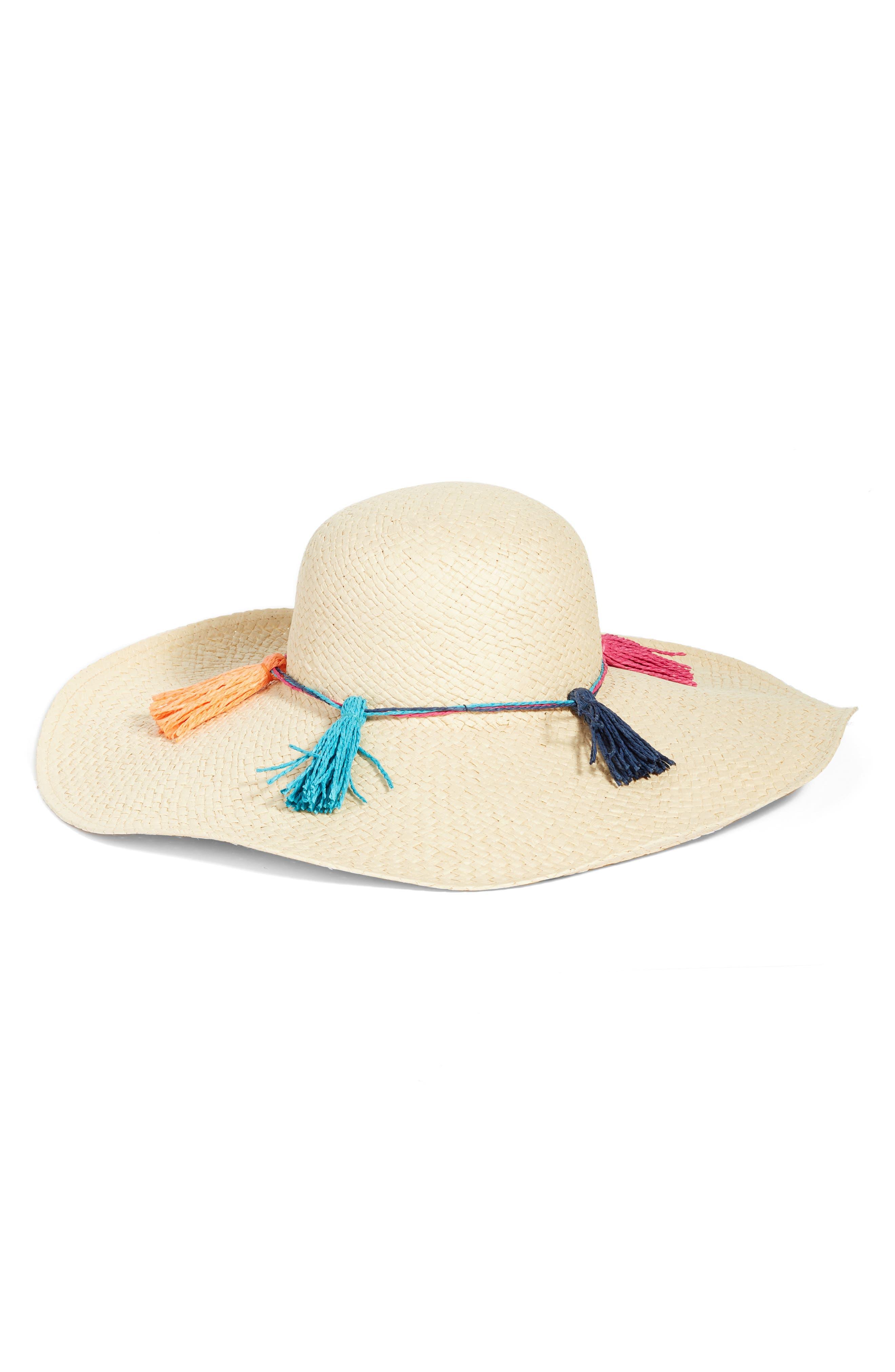 Echo Island Tassel Straw Hat