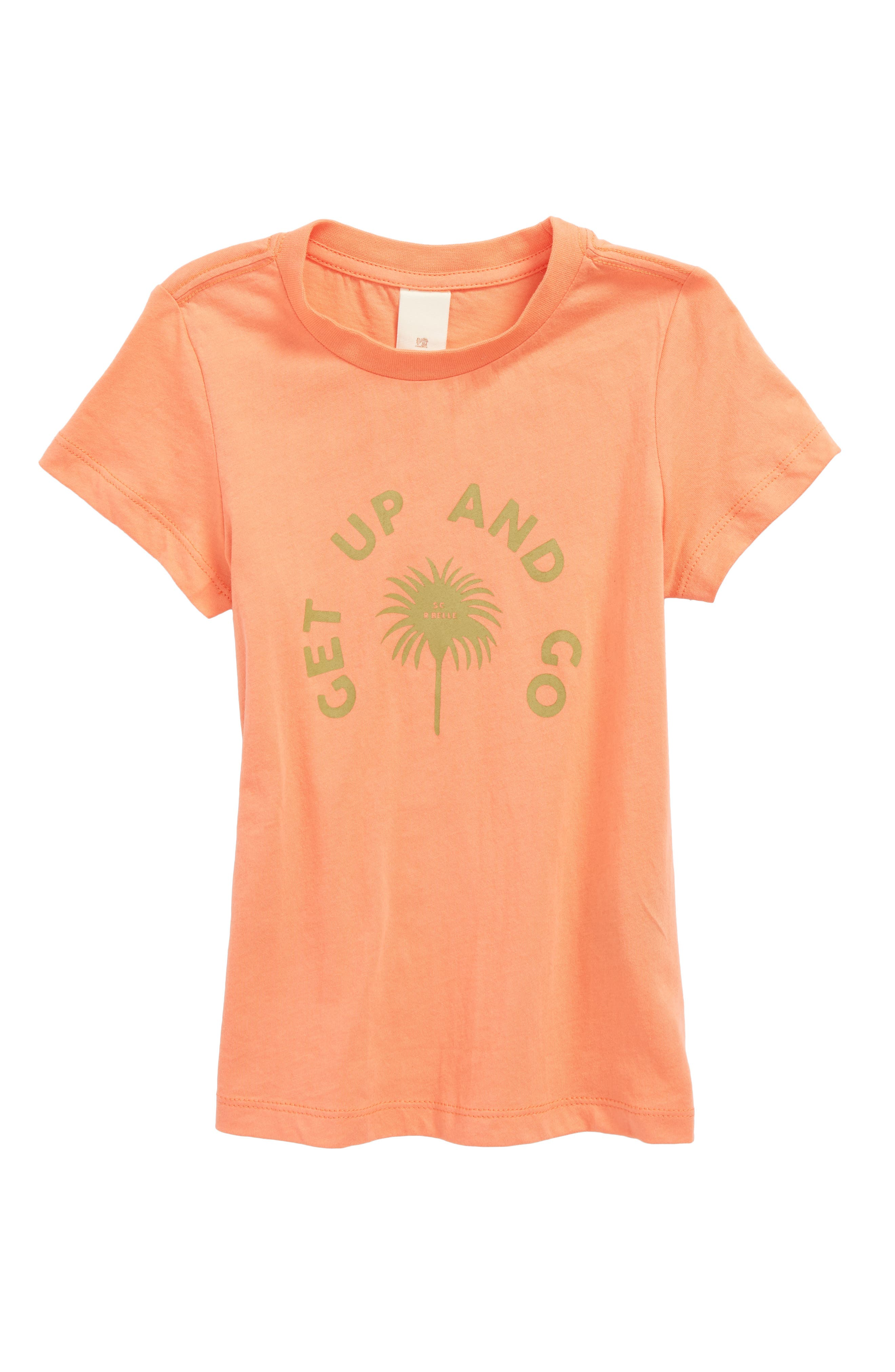 Scotch R'Belle Bright Graphic Tee,                             Main thumbnail 1, color,                             1946 Poppy