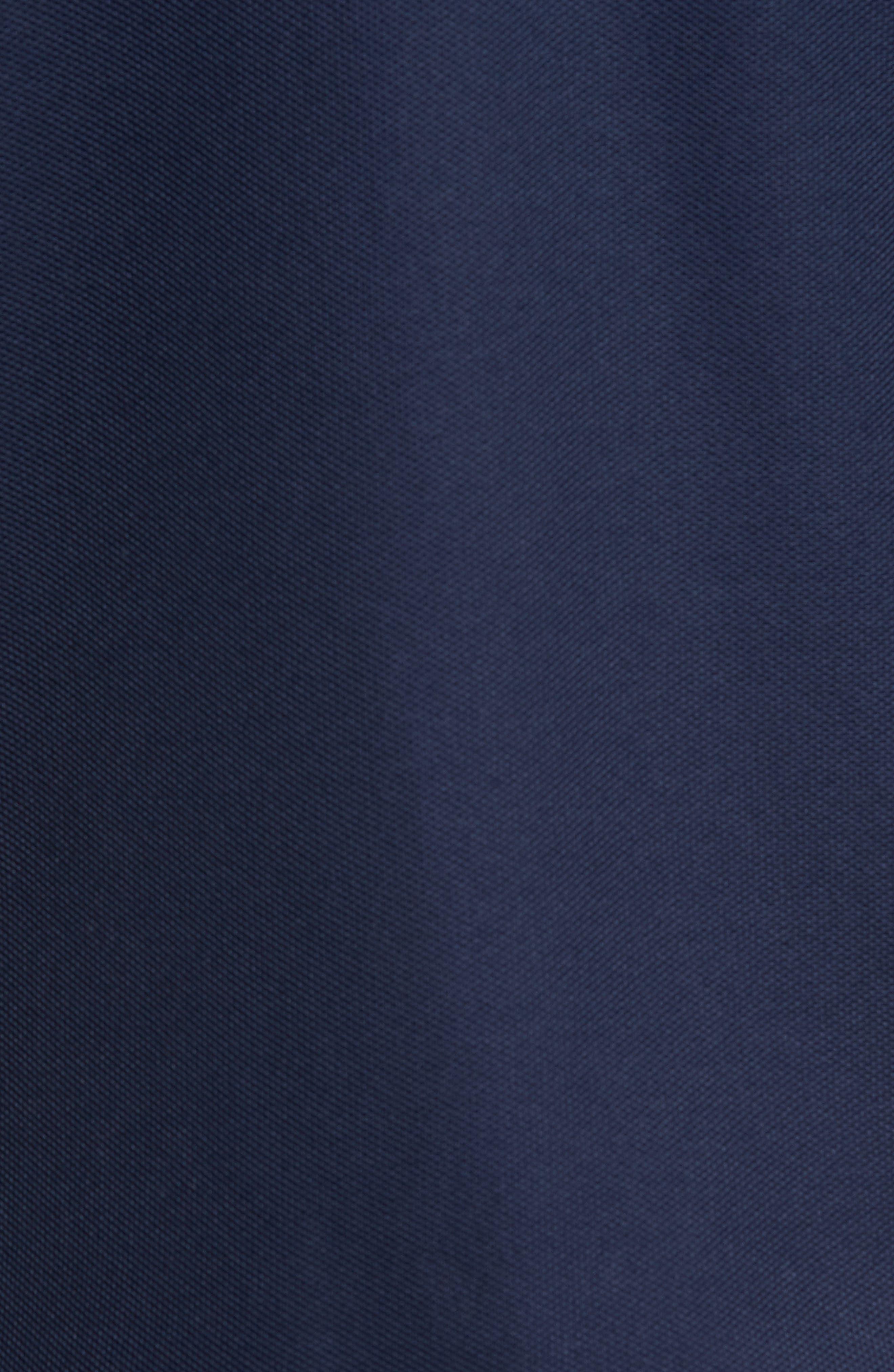 Emfielder Long Sleeve Polo,                             Alternate thumbnail 5, color,                             Blue Note