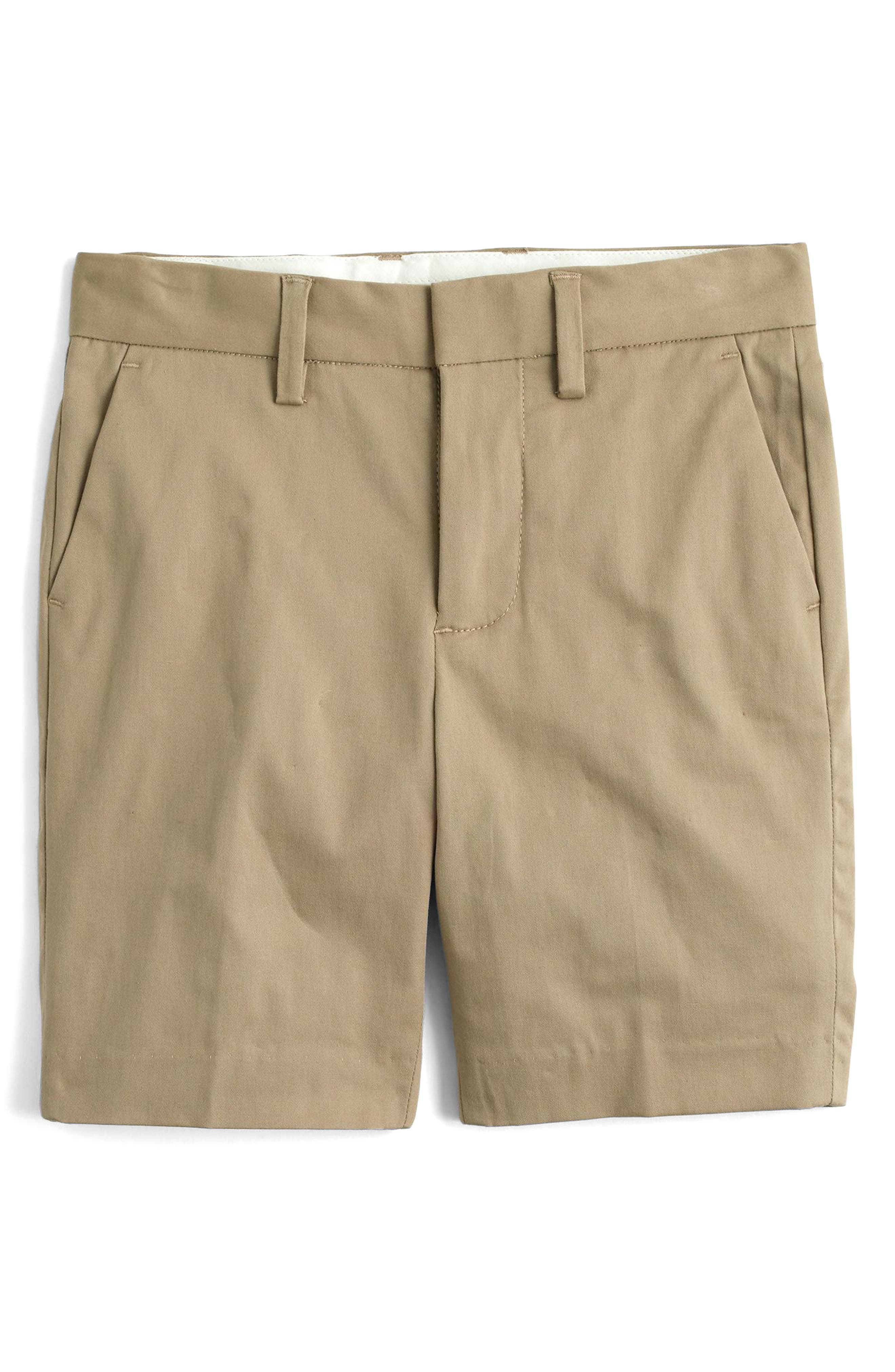 Alternate Image 1 Selected - crewcuts by J.Crew Ludlow Chino Shorts (Toddler Boys, Little Boys & Big Boys)