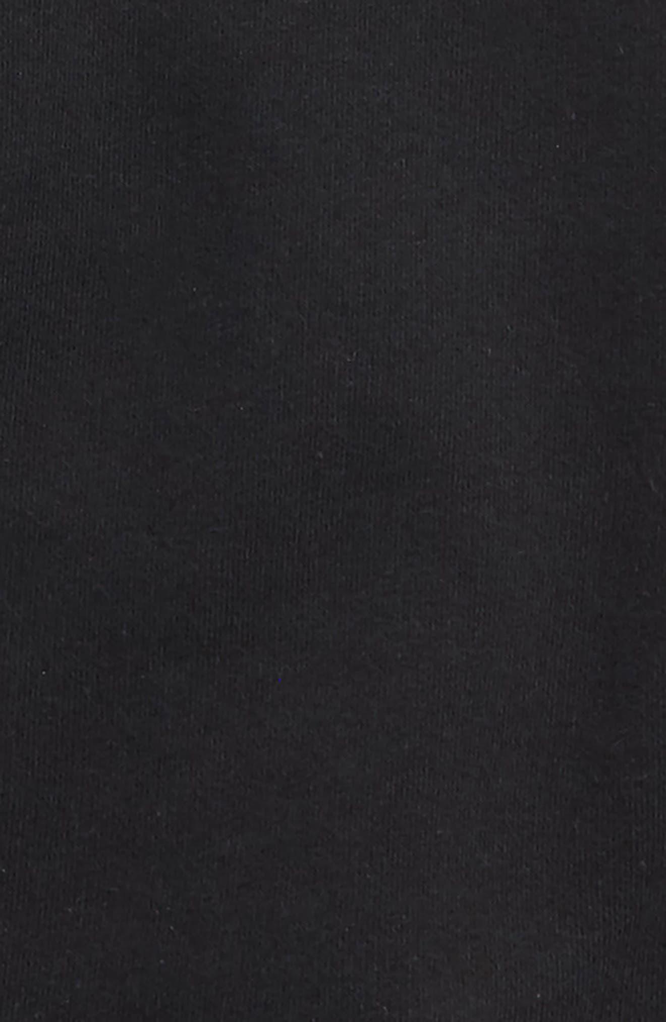 Asymmetrical Zip Hooded Vest,                             Alternate thumbnail 2, color,                             Black