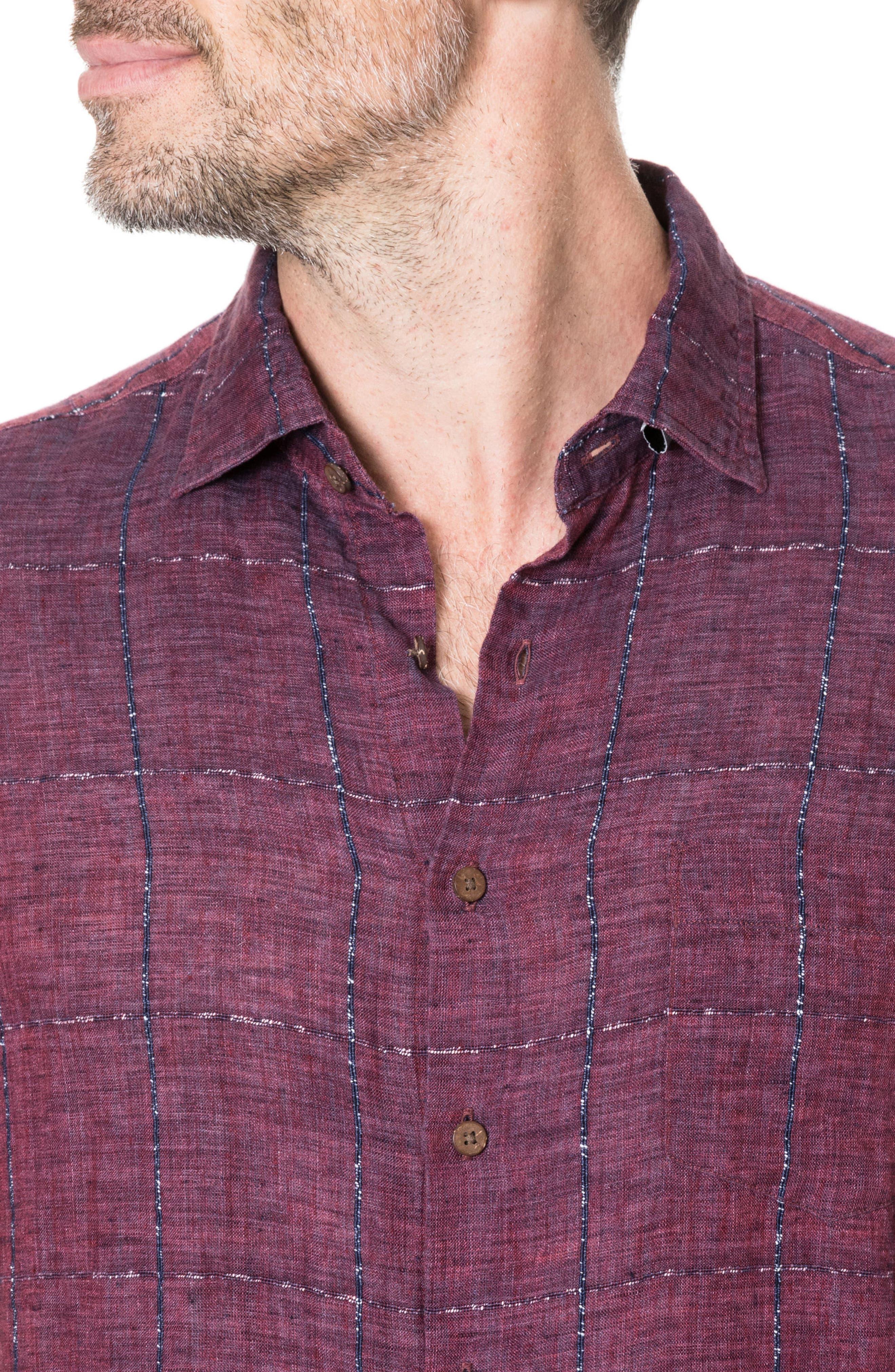 Alternate Image 2  - Rodd & Gunn Saddleback Regular Fit Sport Shirt