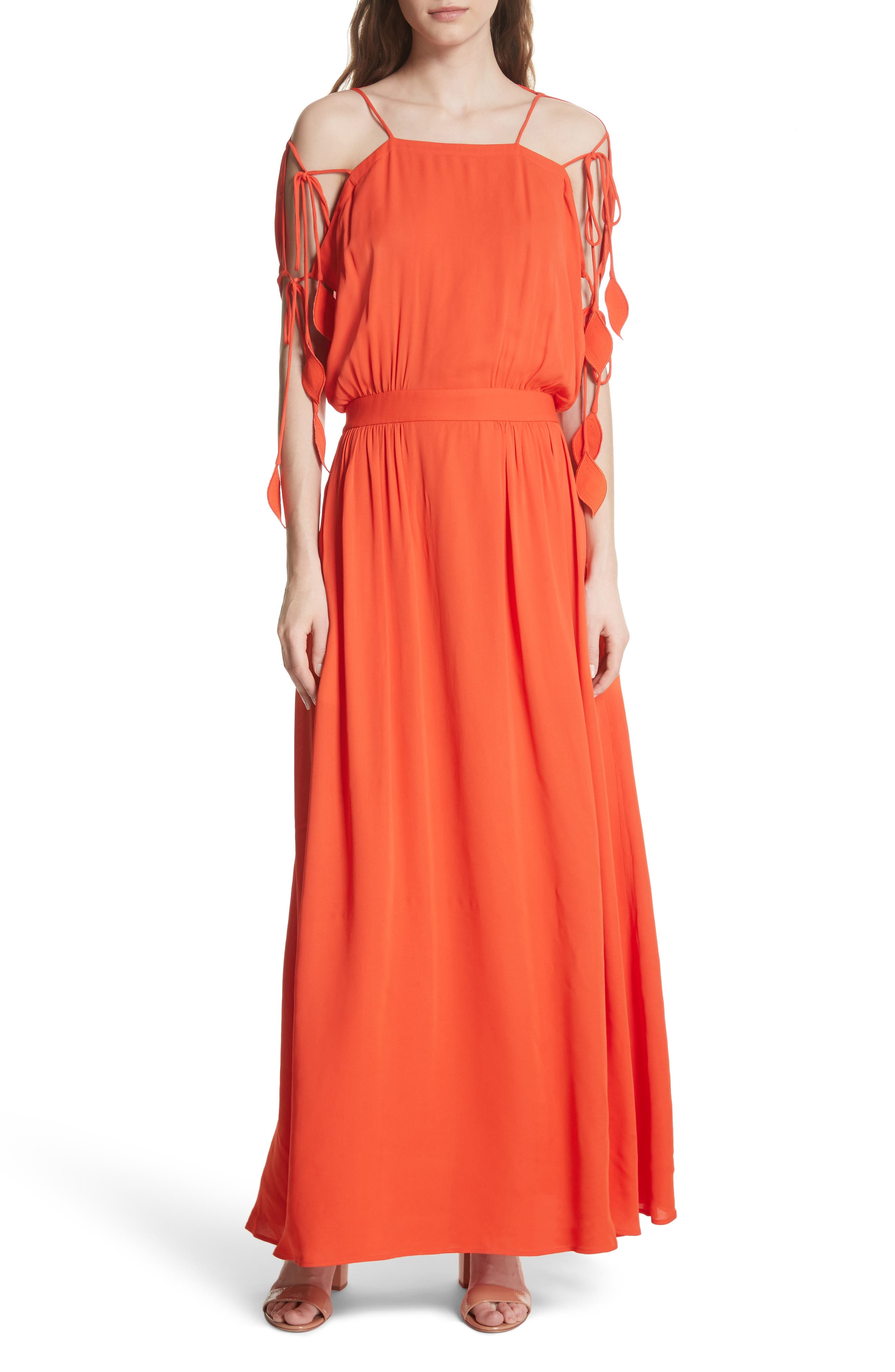 Main Image - Tory Burch Evalene Maxi Dress