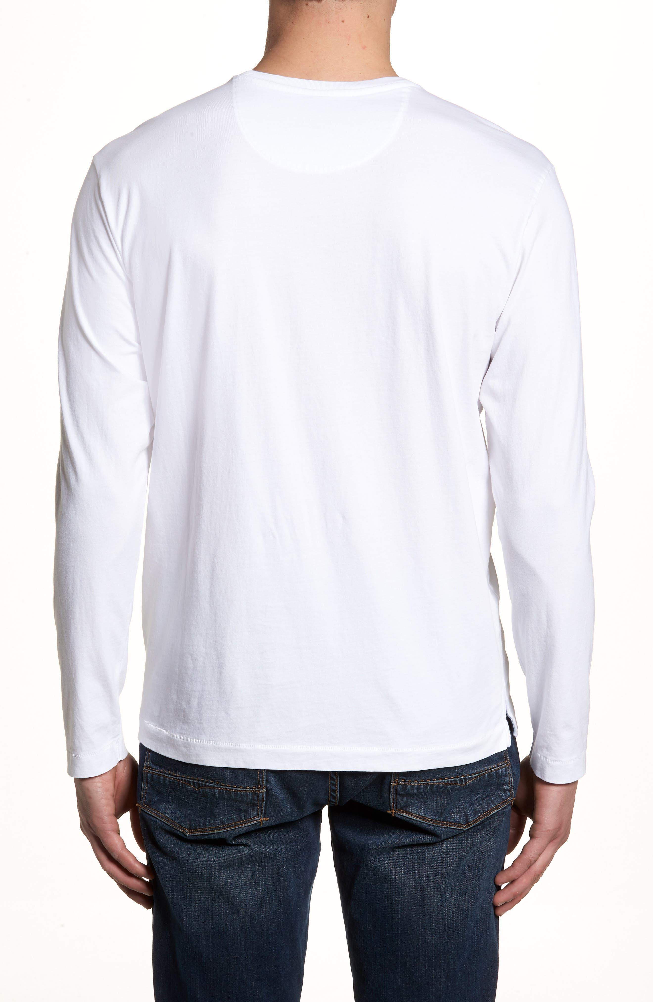 New Bali Skyline T-Shirt,                             Alternate thumbnail 2, color,                             White