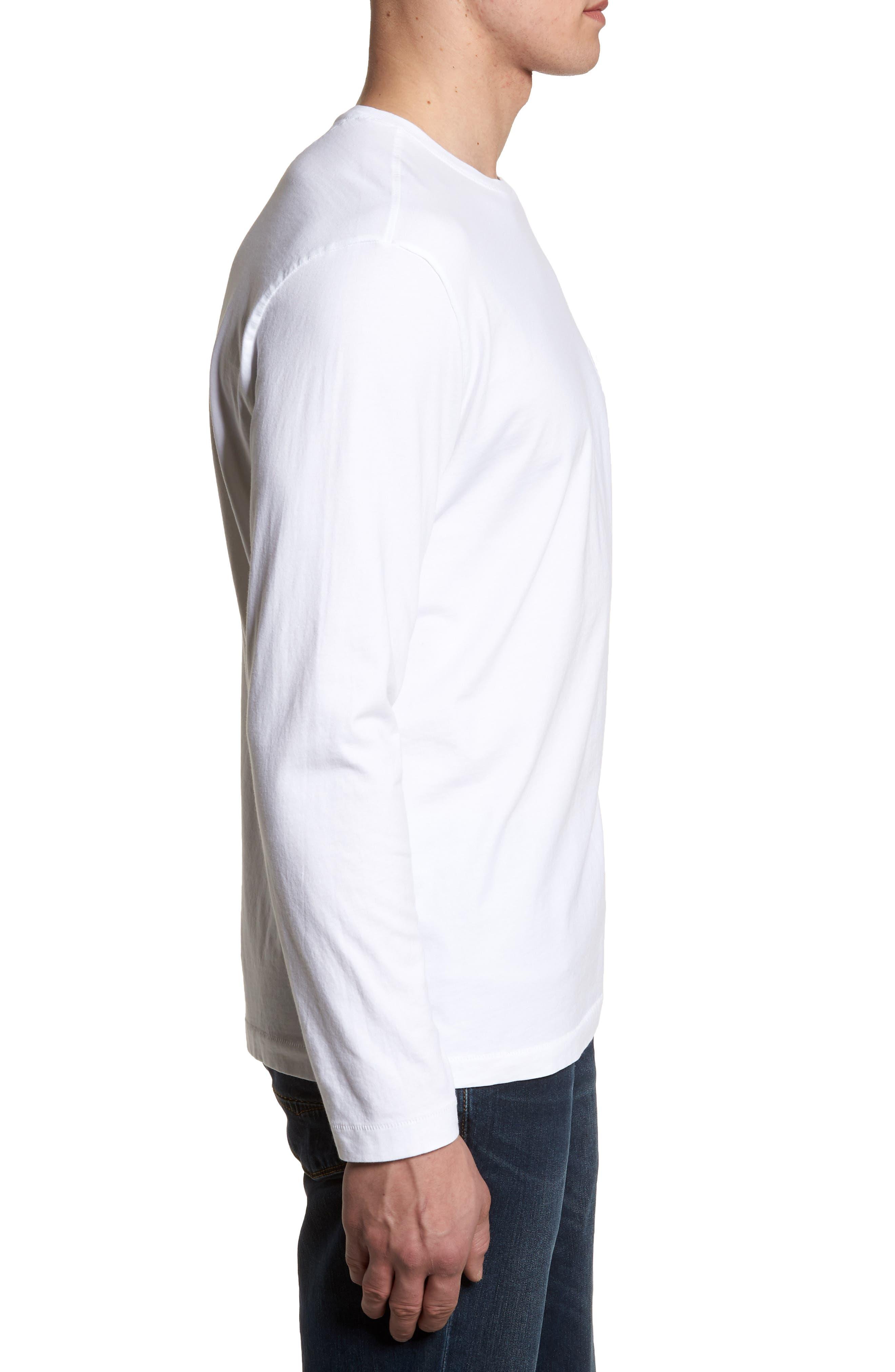 New Bali Skyline T-Shirt,                             Alternate thumbnail 3, color,                             White