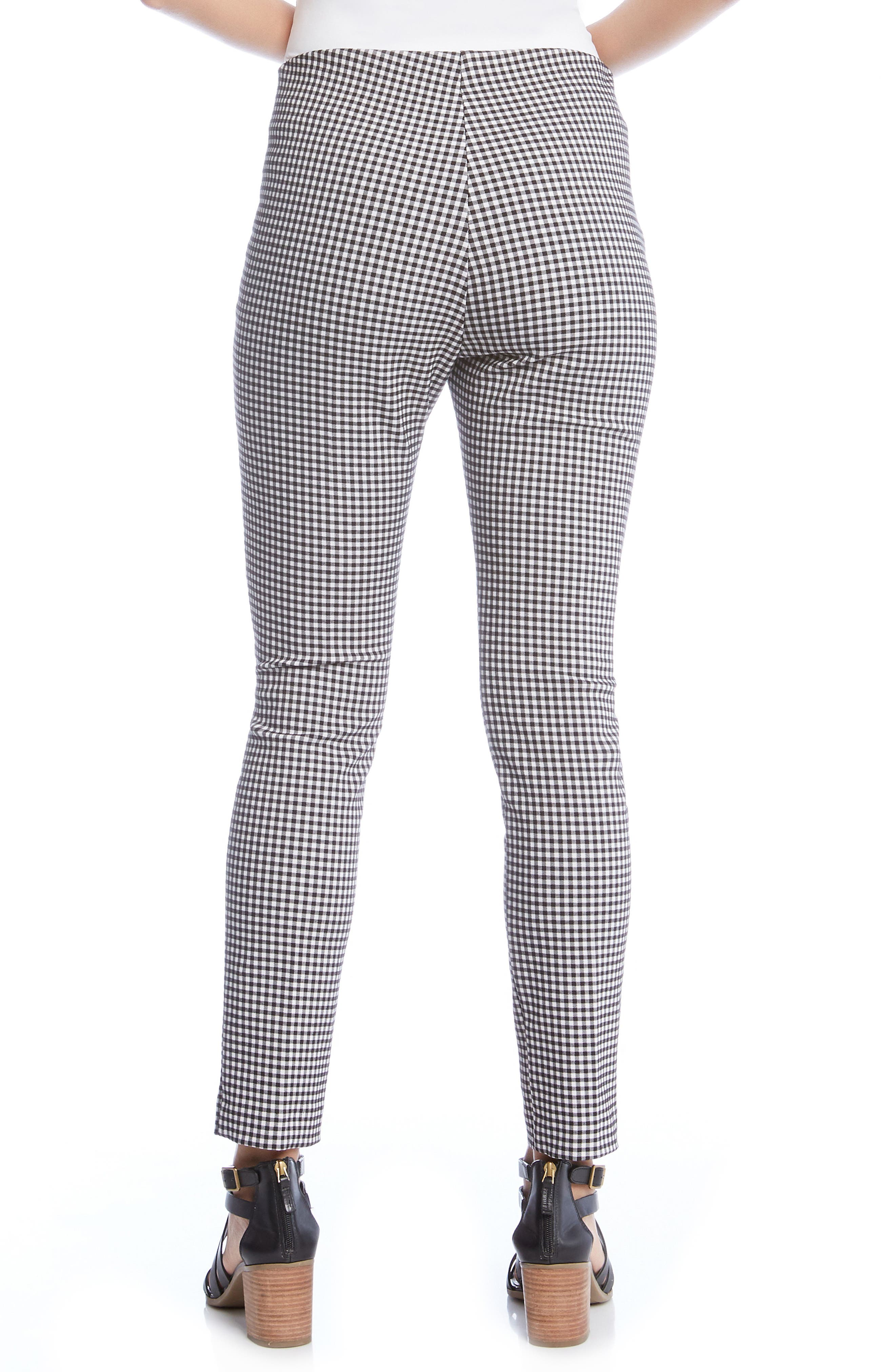 Piper Skinny Ankle Pants,                             Alternate thumbnail 2, color,                             Checkered
