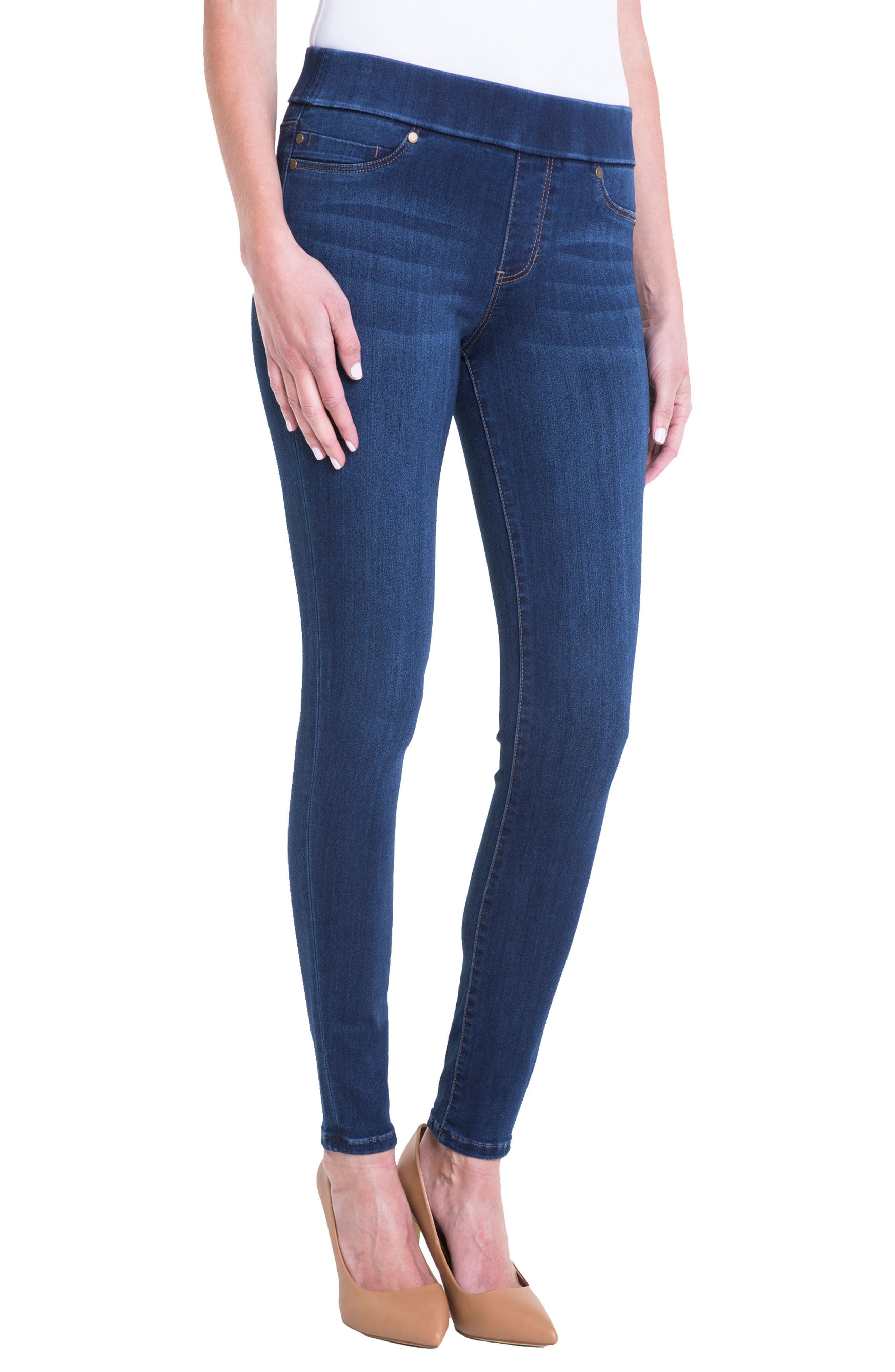 Liverpool Jeans Company Sienna Pull-On Jeans (San Andreas Dark)