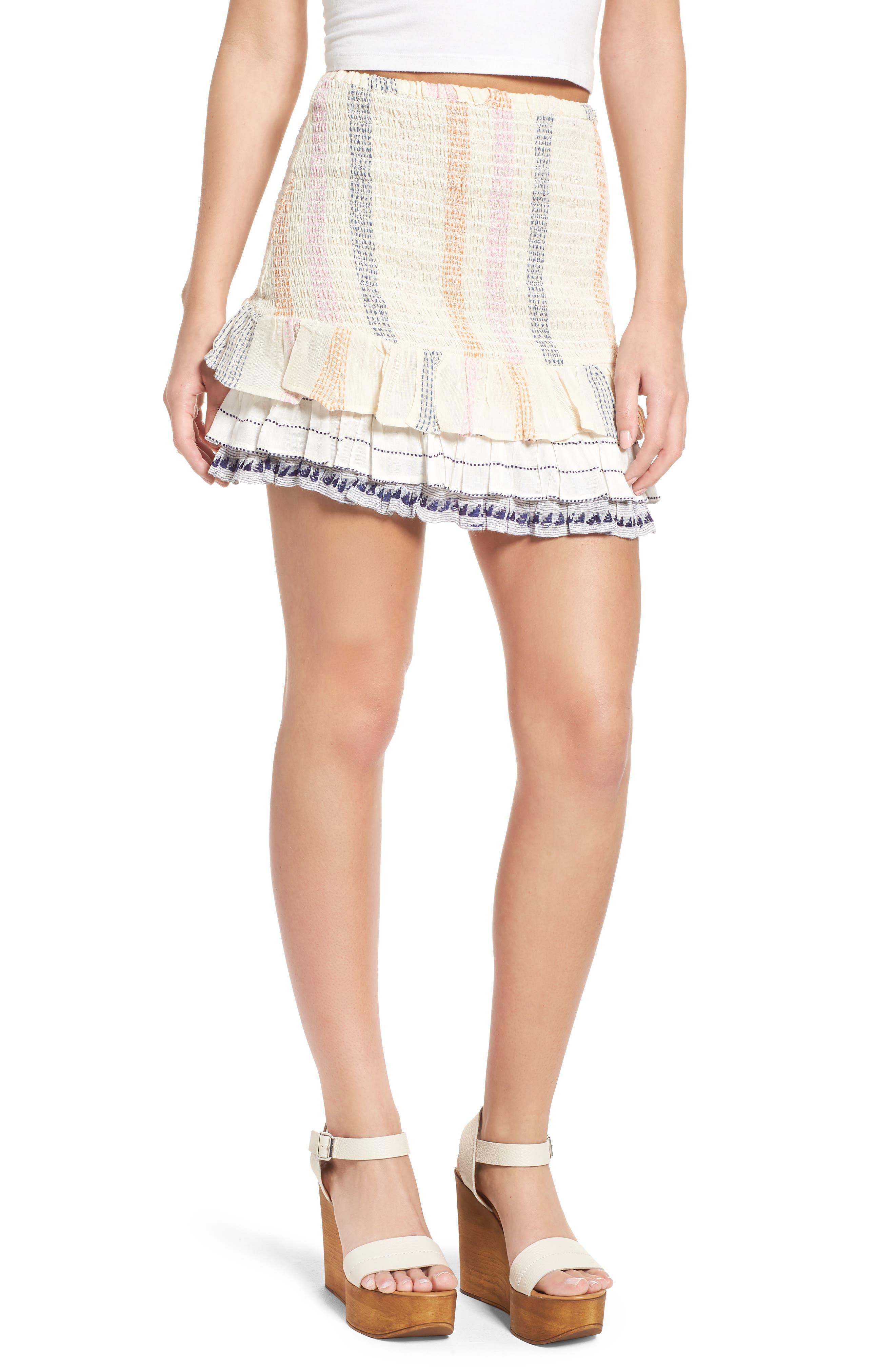 Alternate Image 1 Selected - Tularosa Drea Miniskirt
