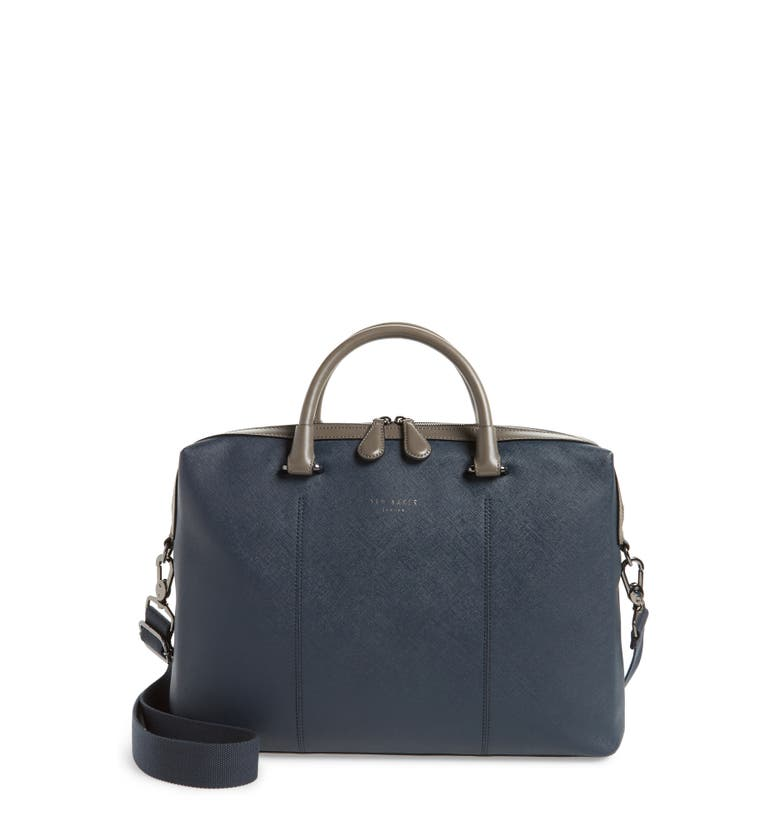 Ted Baker  Trough Crossgrain Document Briefcase
