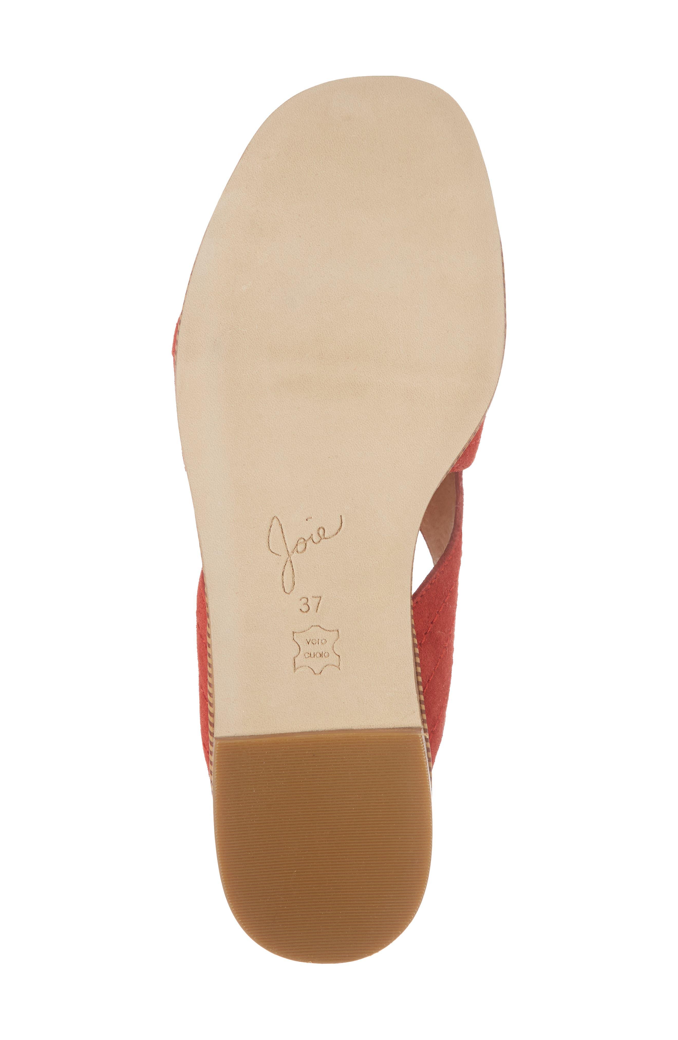Paetyn Slide Sandal,                             Alternate thumbnail 6, color,                             Red