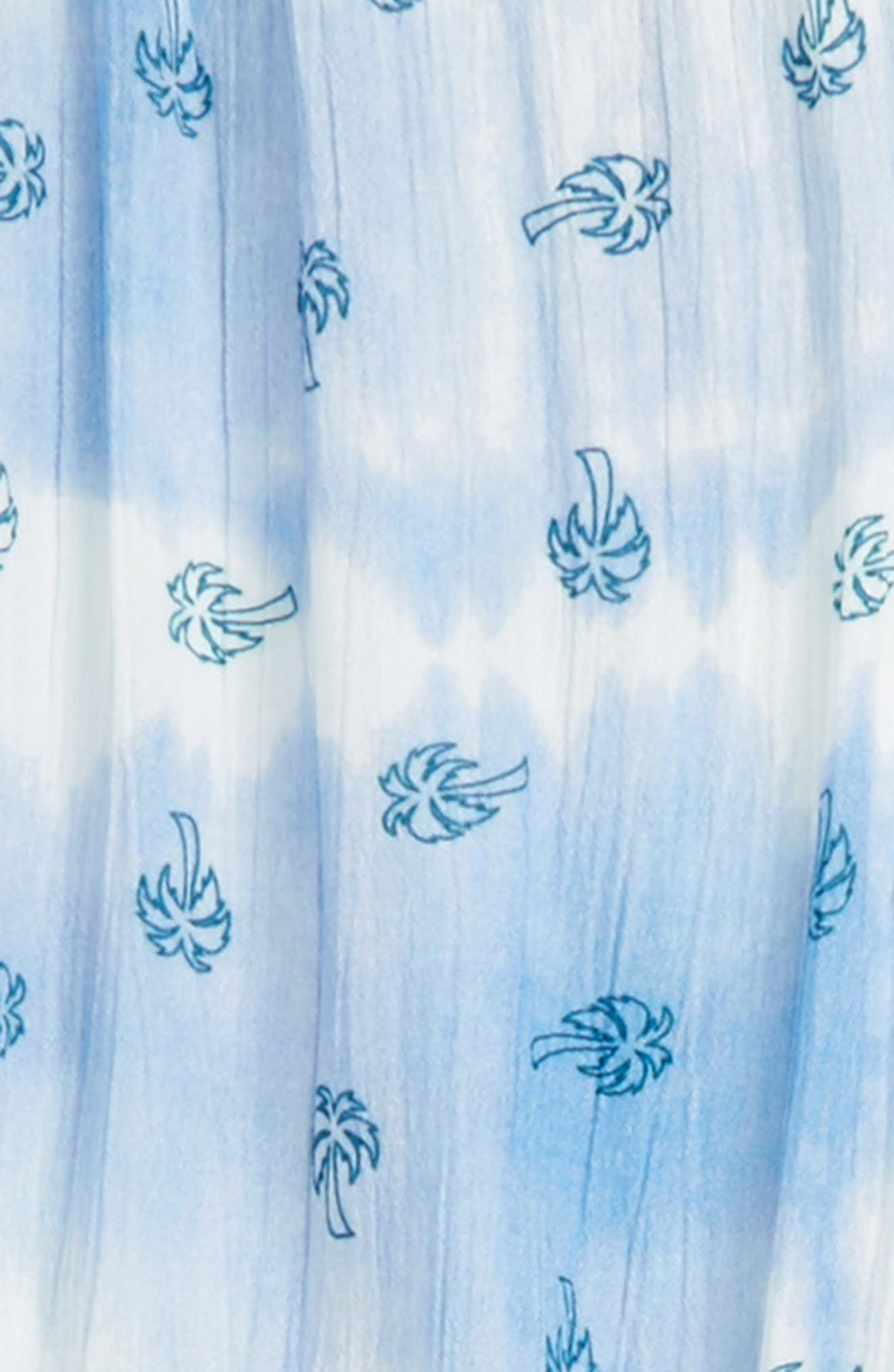 Daydream Tie Dye Print Jumpsuit,                             Alternate thumbnail 2, color,                             White
