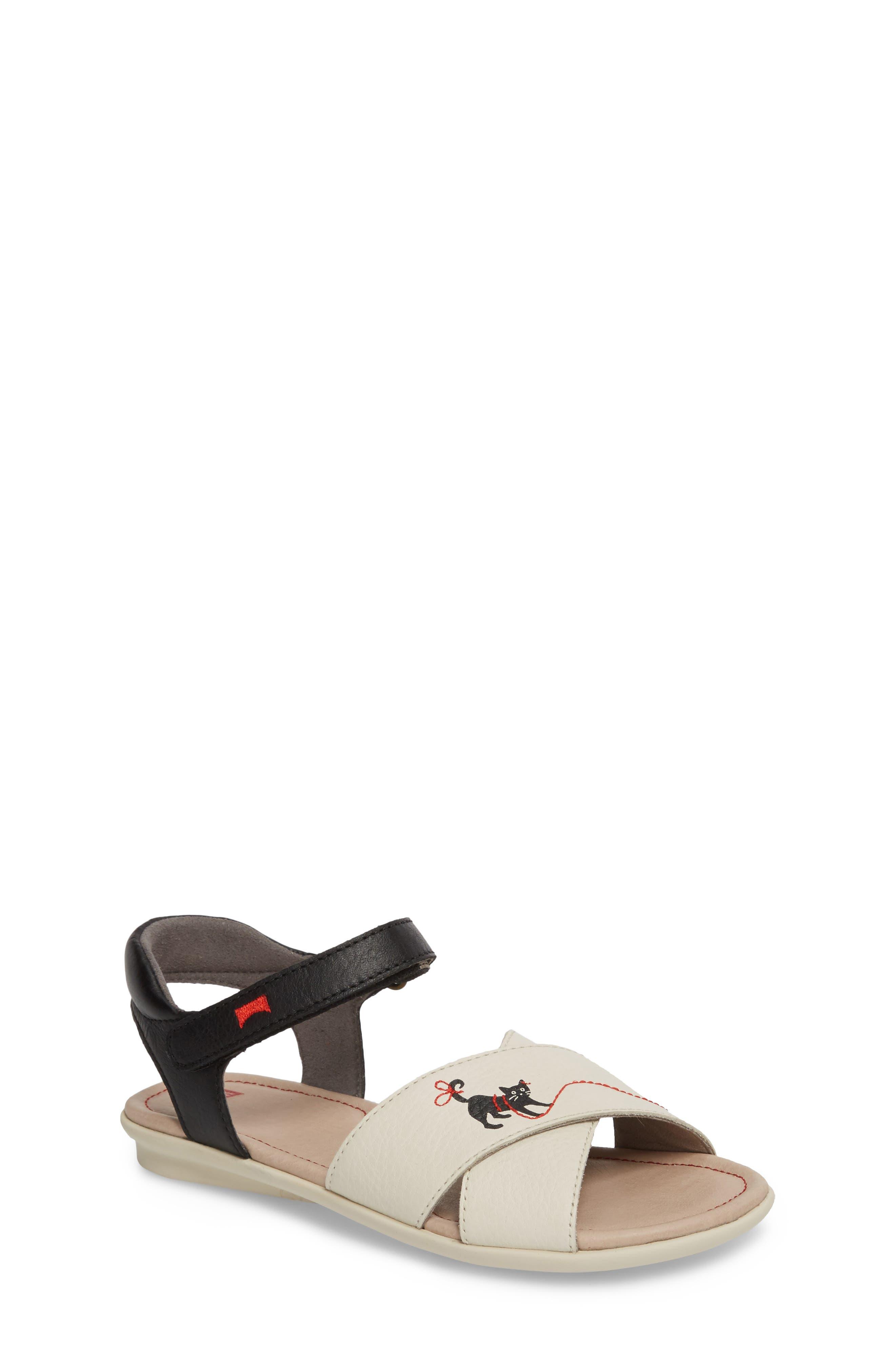 Twins Sandal,                             Main thumbnail 1, color,                             White Multi
