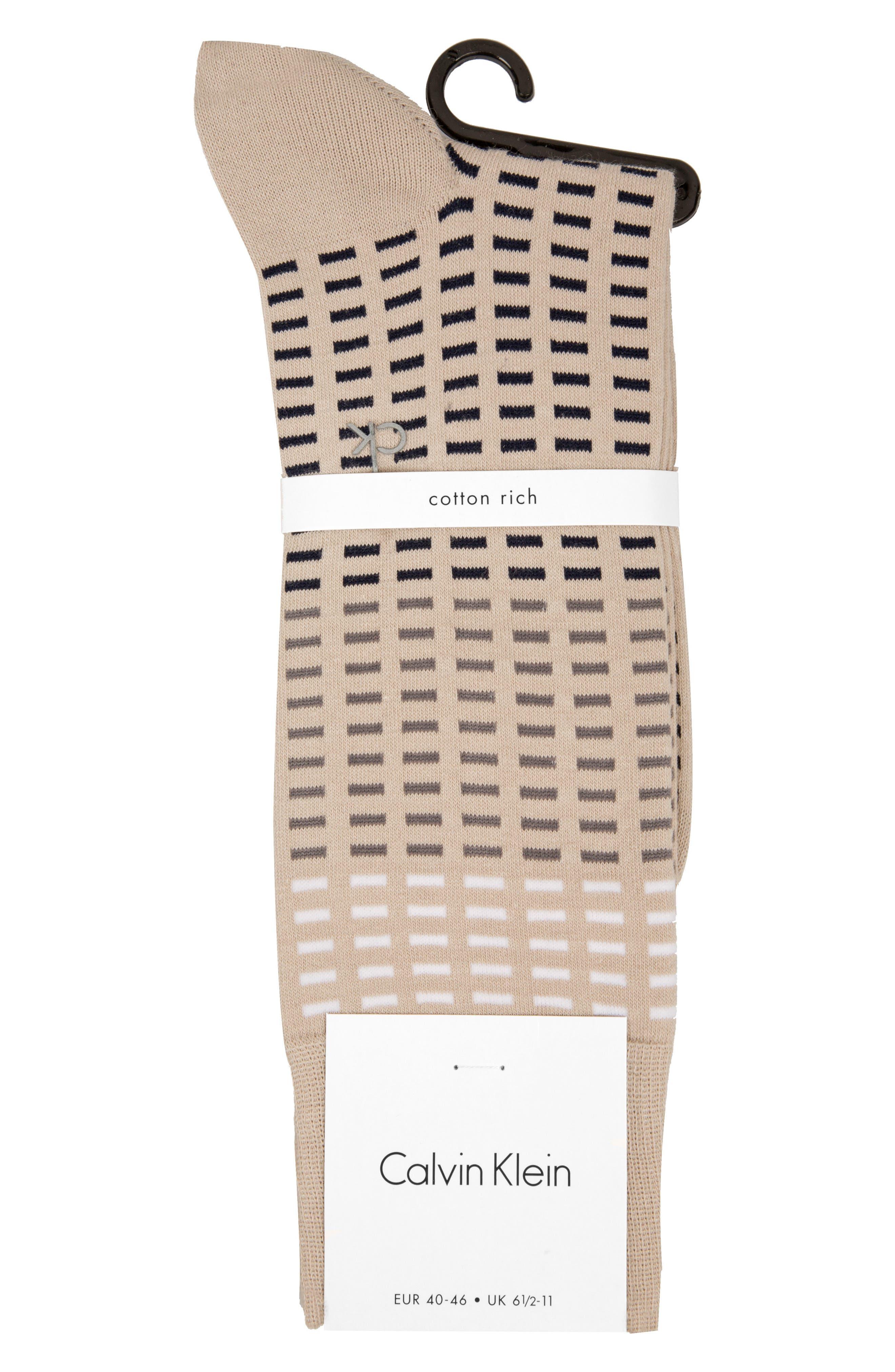 Tile Socks,                             Alternate thumbnail 2, color,                             Chateau Grey