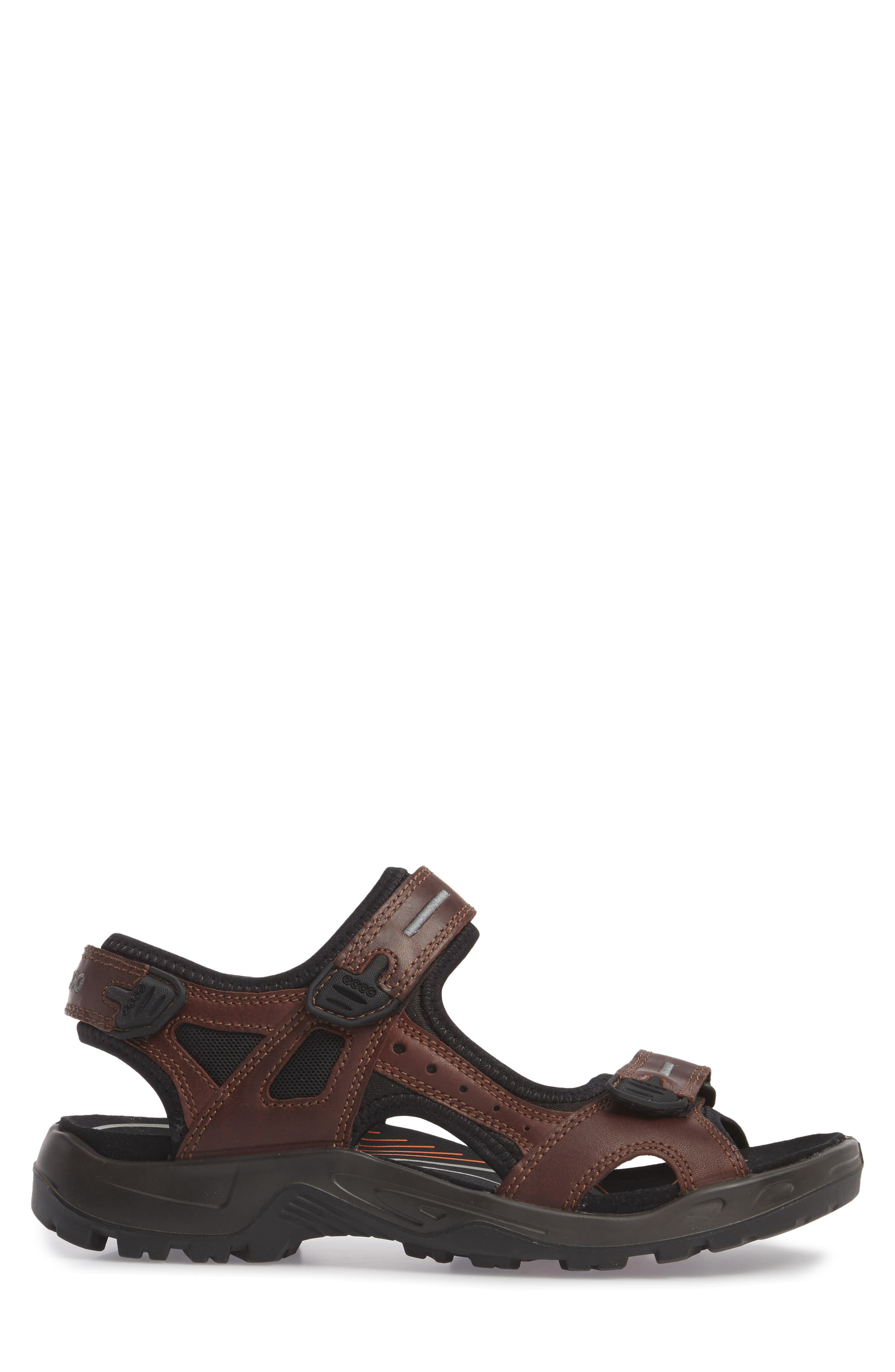 Offroad Sport Sandal,                             Alternate thumbnail 3, color,                             Brandy Leather
