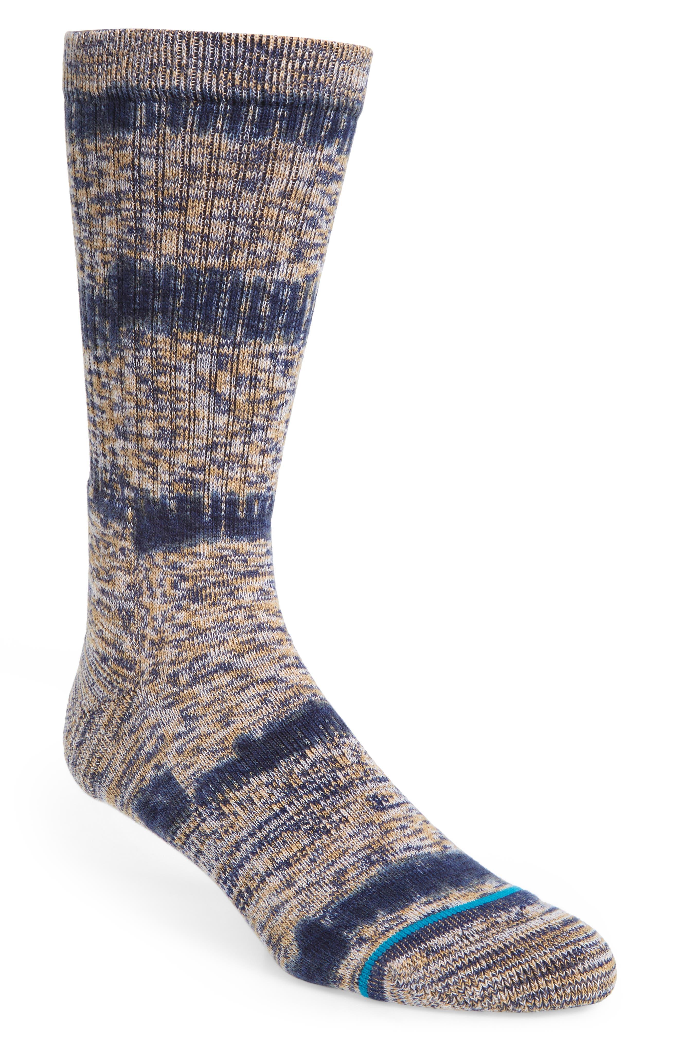 Avi Socks,                         Main,                         color, Navy