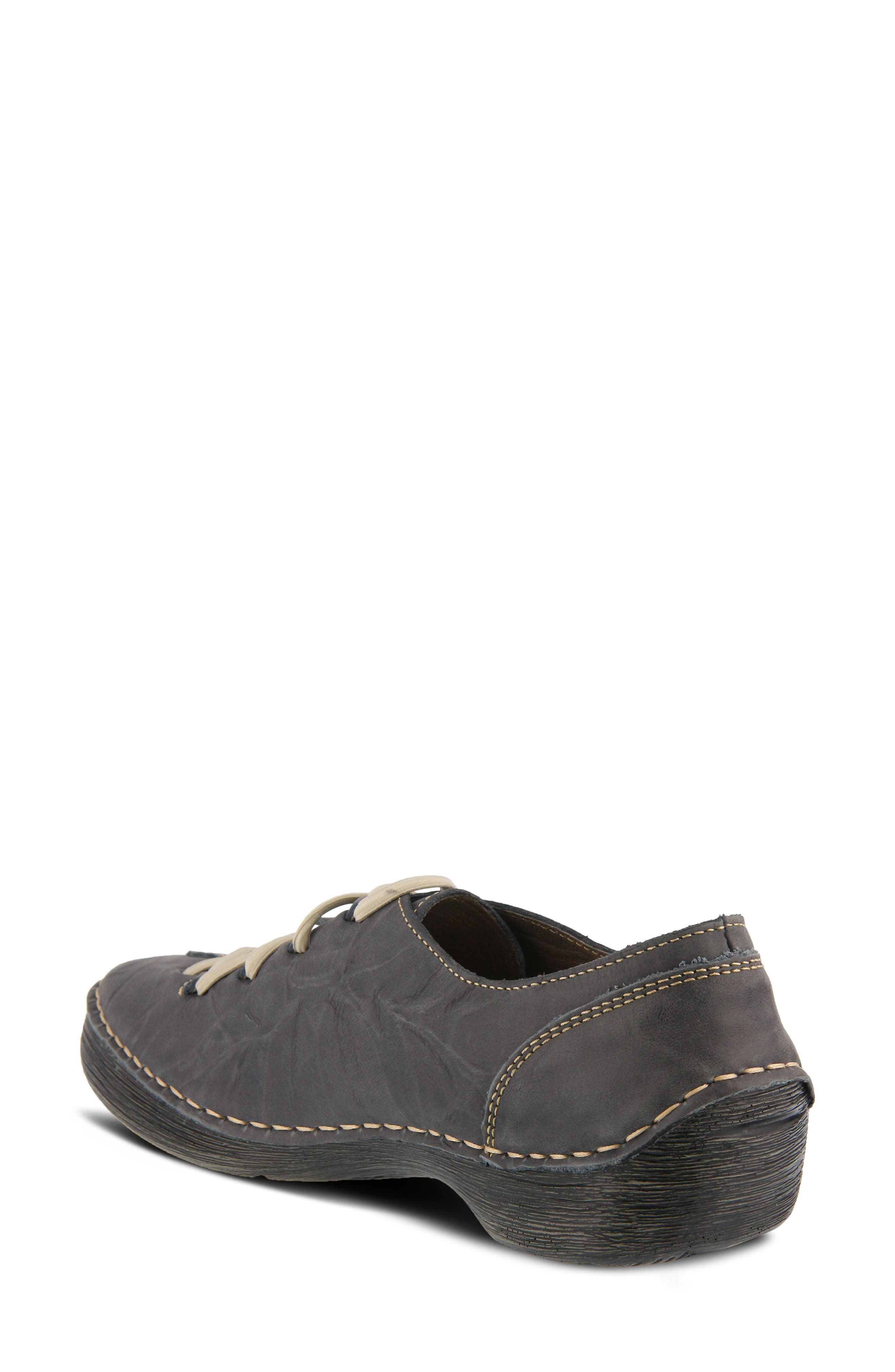 Carhop Sneaker,                             Alternate thumbnail 2, color,                             Blue Leather