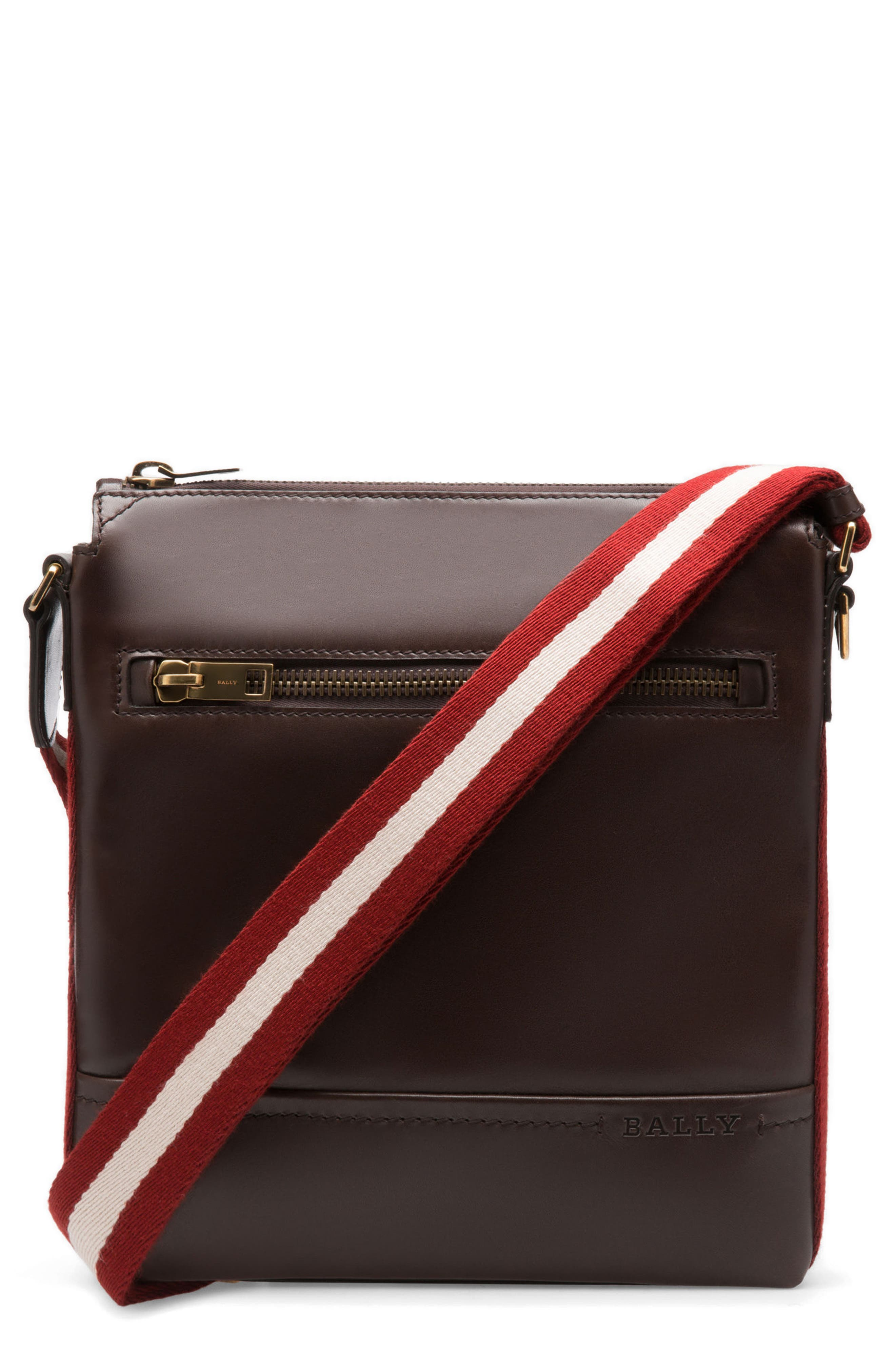 Bally Trezzini Leather Crossbody Bag
