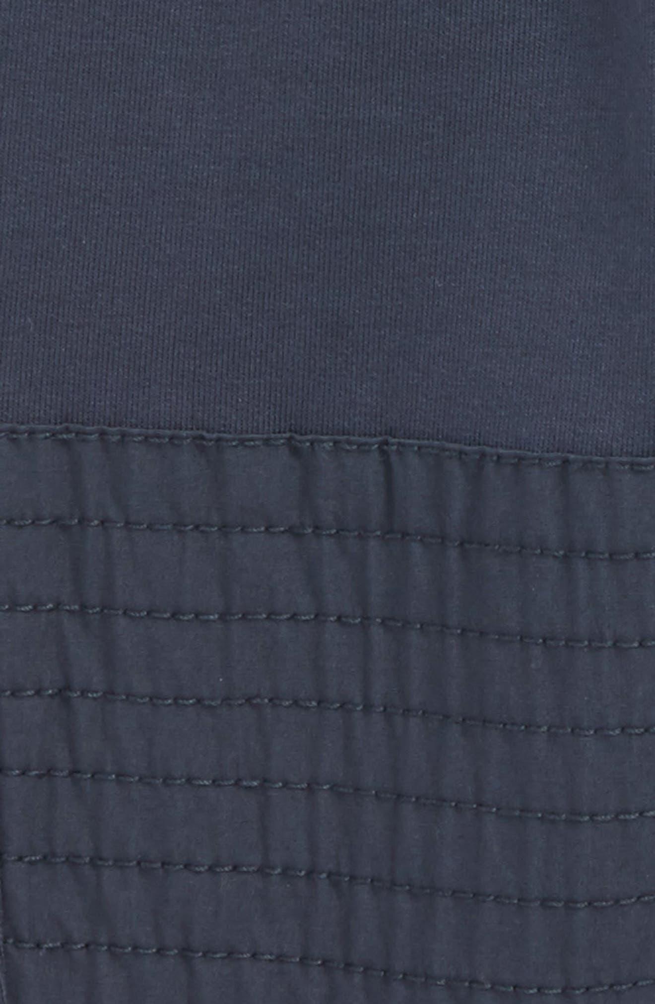 French Terry Moto Pants,                             Alternate thumbnail 3, color,                             Indigo