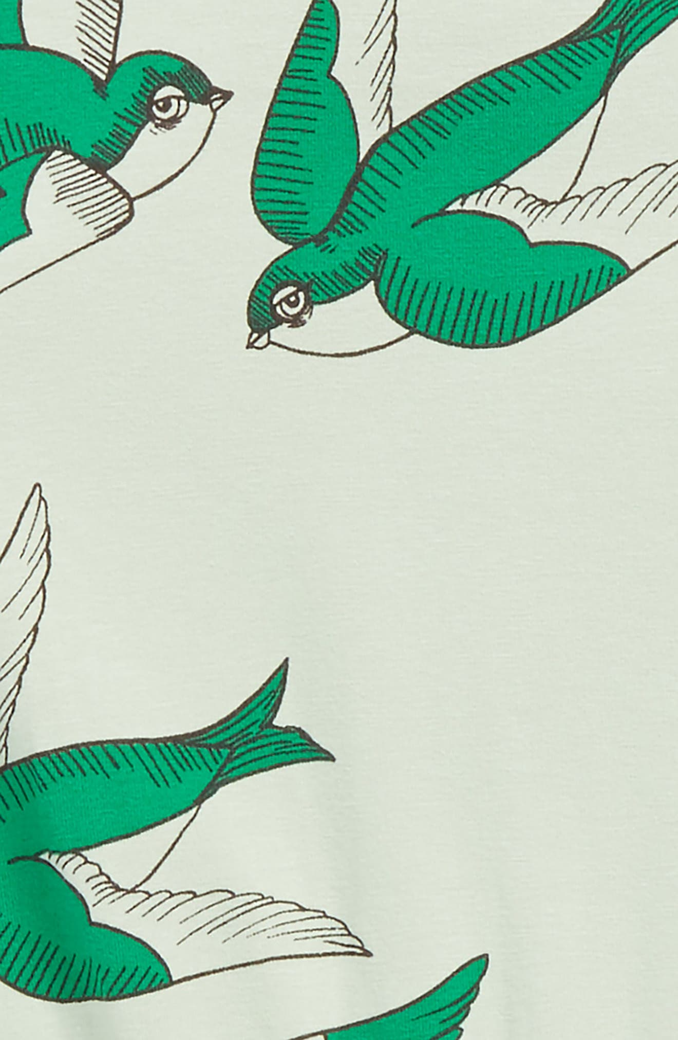 Swallows Romper,                             Alternate thumbnail 2, color,                             Green