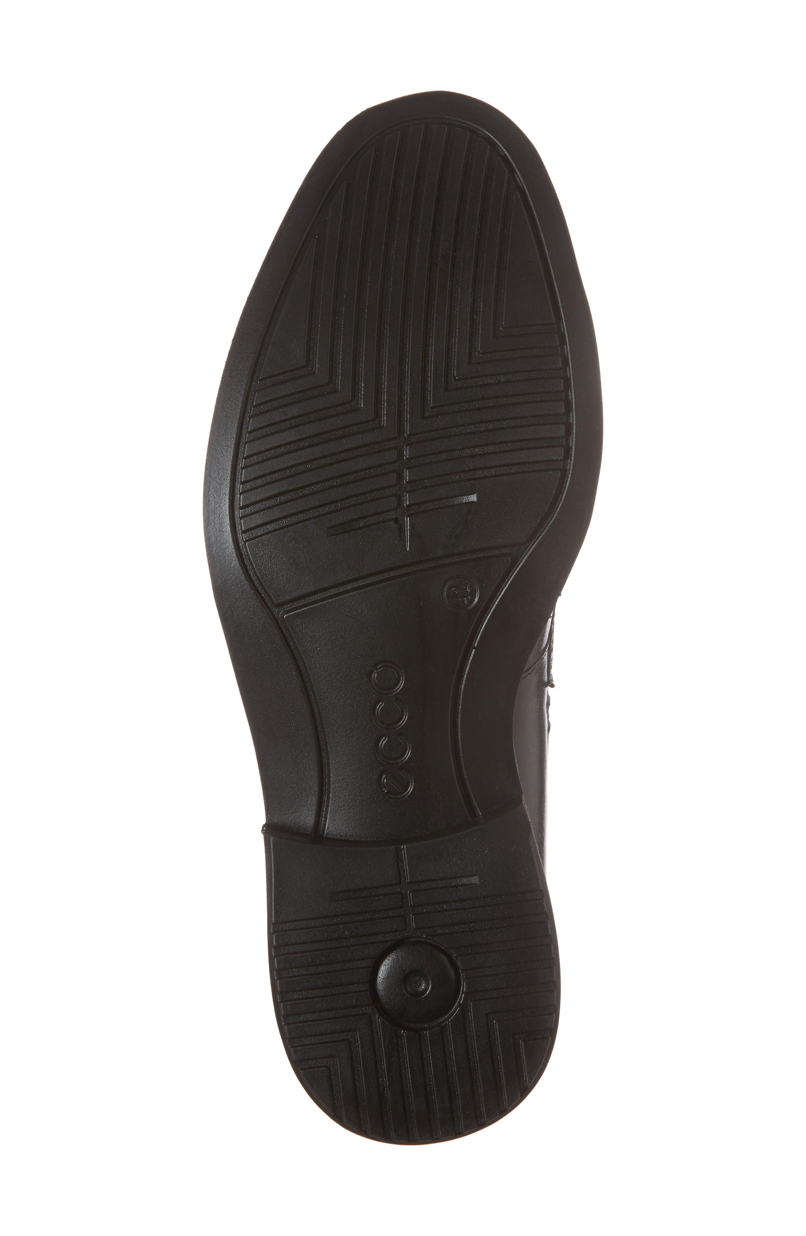 Vitrus II Apron Toe Loafer,                             Alternate thumbnail 6, color,                             Black Leather