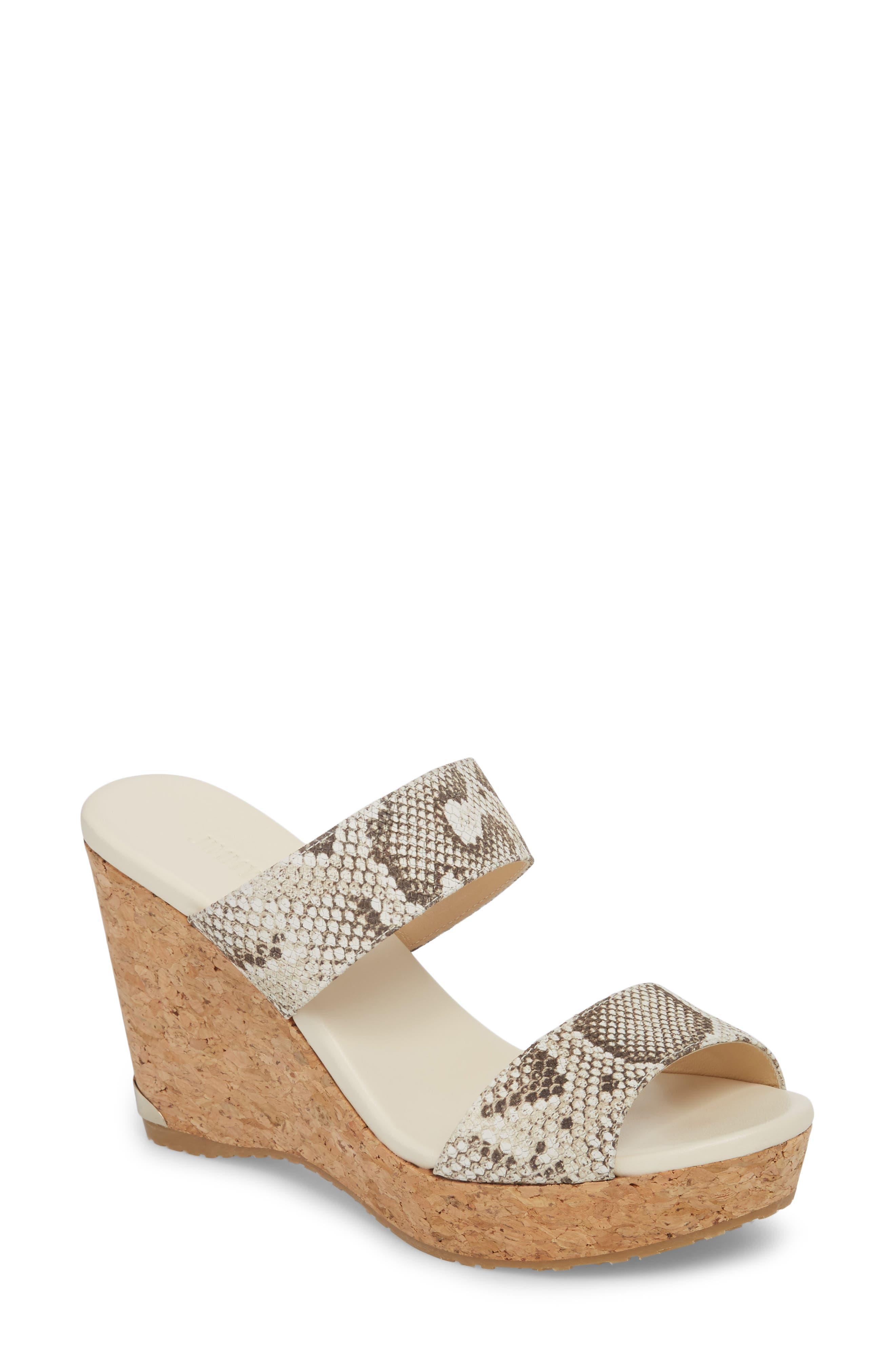 Jimmy Choo Parker Platform Wedge Sandal (Women)
