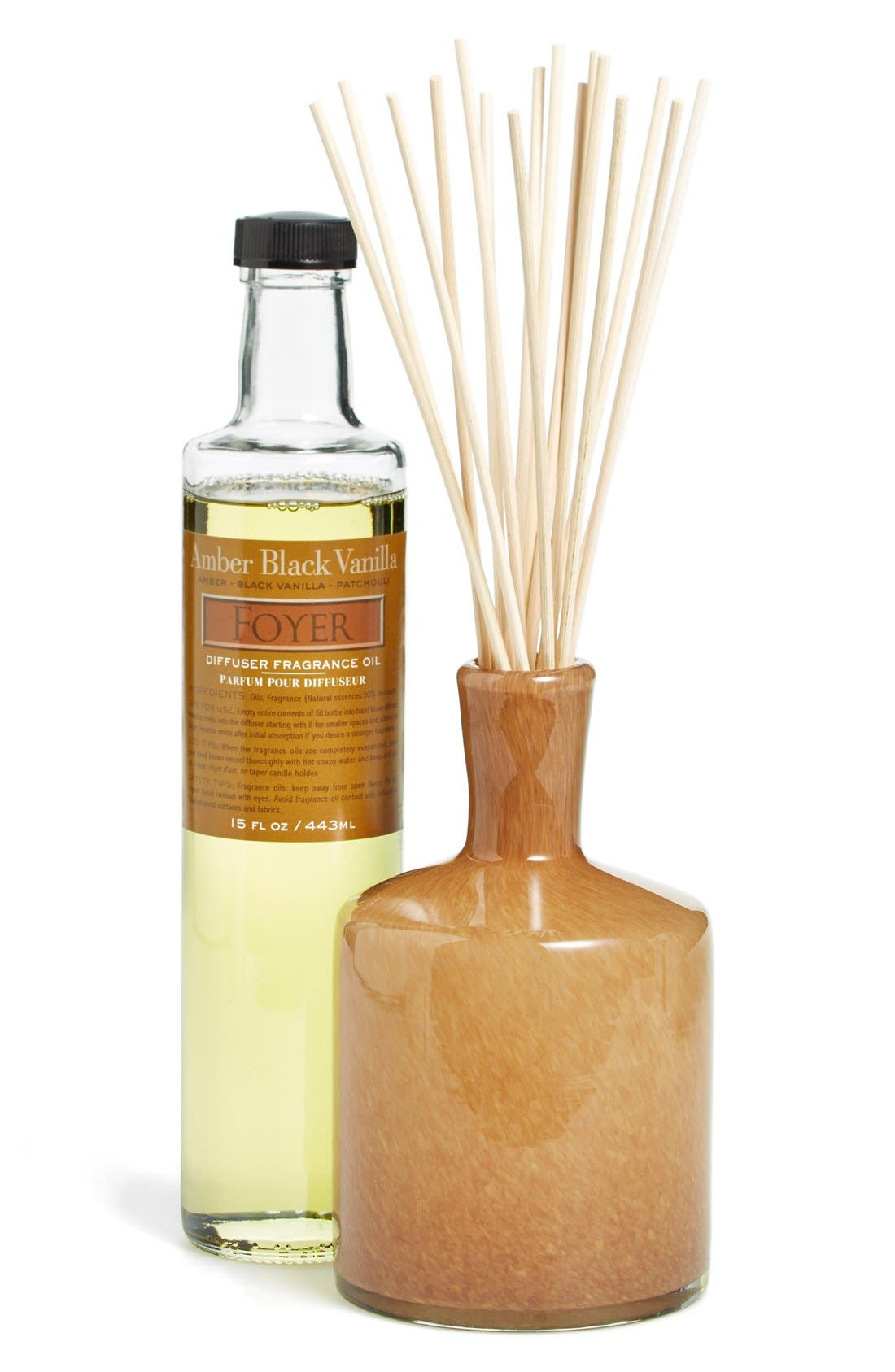 'Amber Black Vanilla - Foyer' Fragrance Diffuser,                             Main thumbnail 1, color,                             No Color