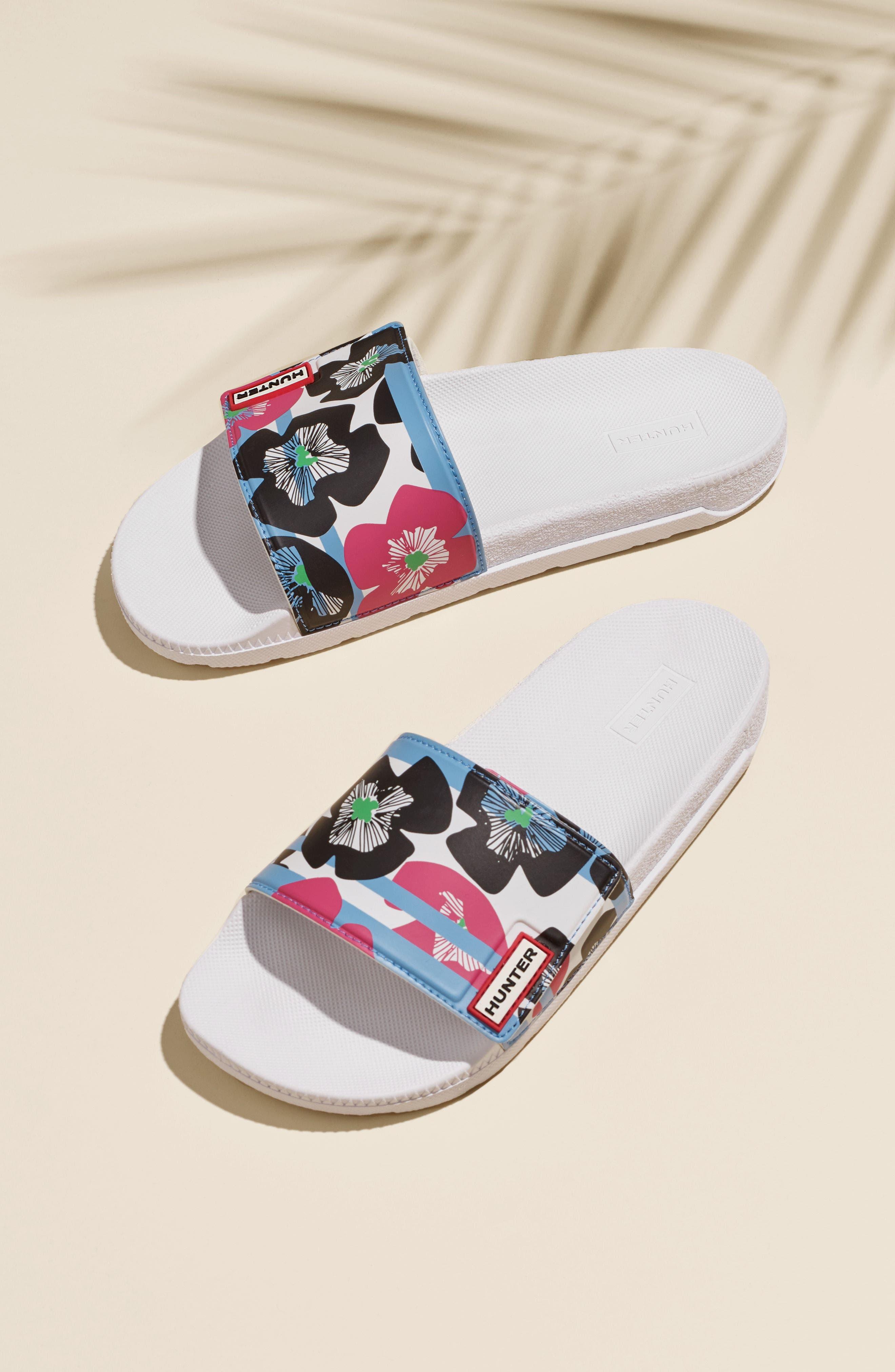 Alternate Image 7  - Hunter Original Adjustable Slide Sandal (Women)