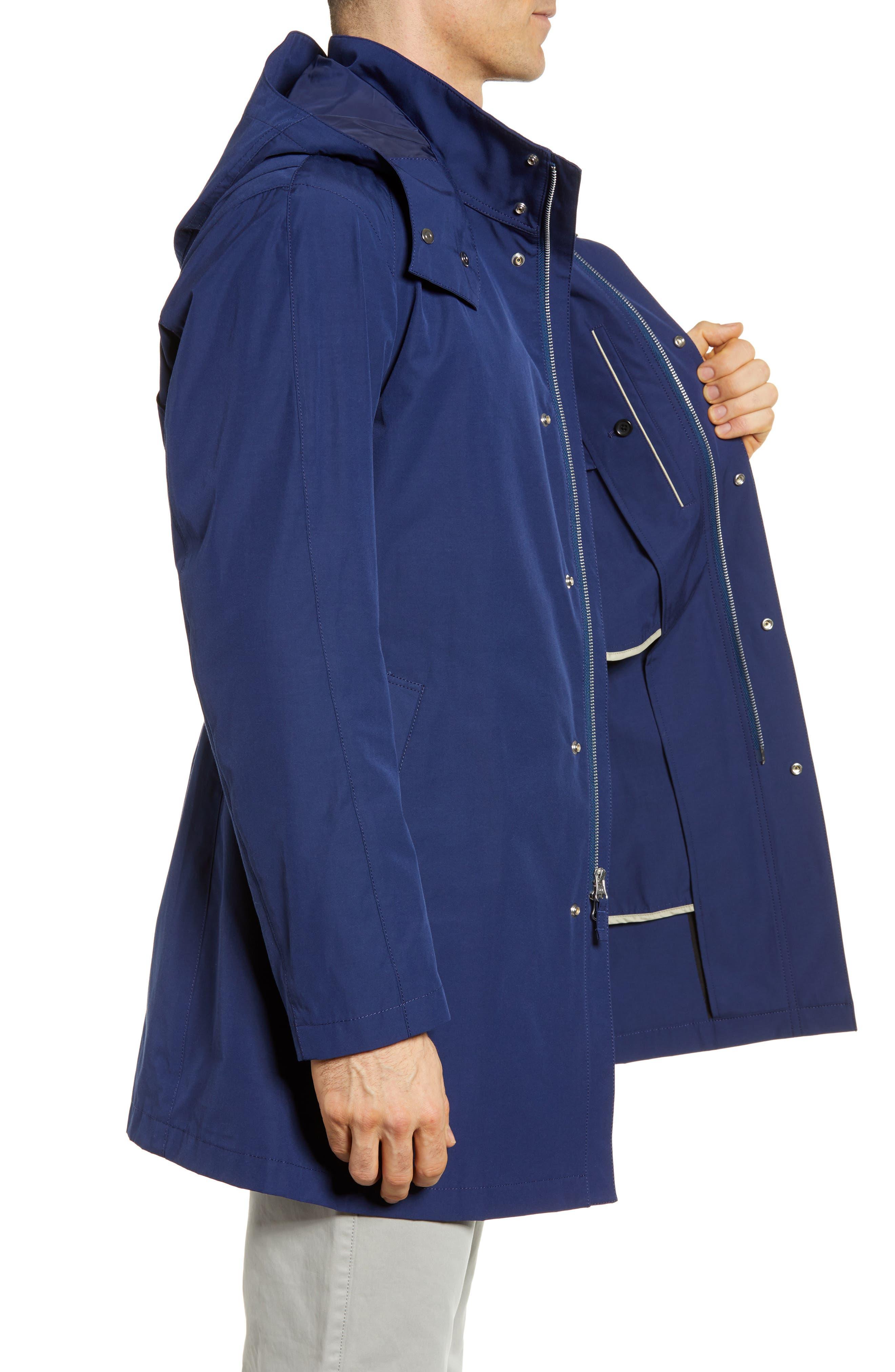 Getaway Raincoat,                             Alternate thumbnail 3, color,                             Royal Blue