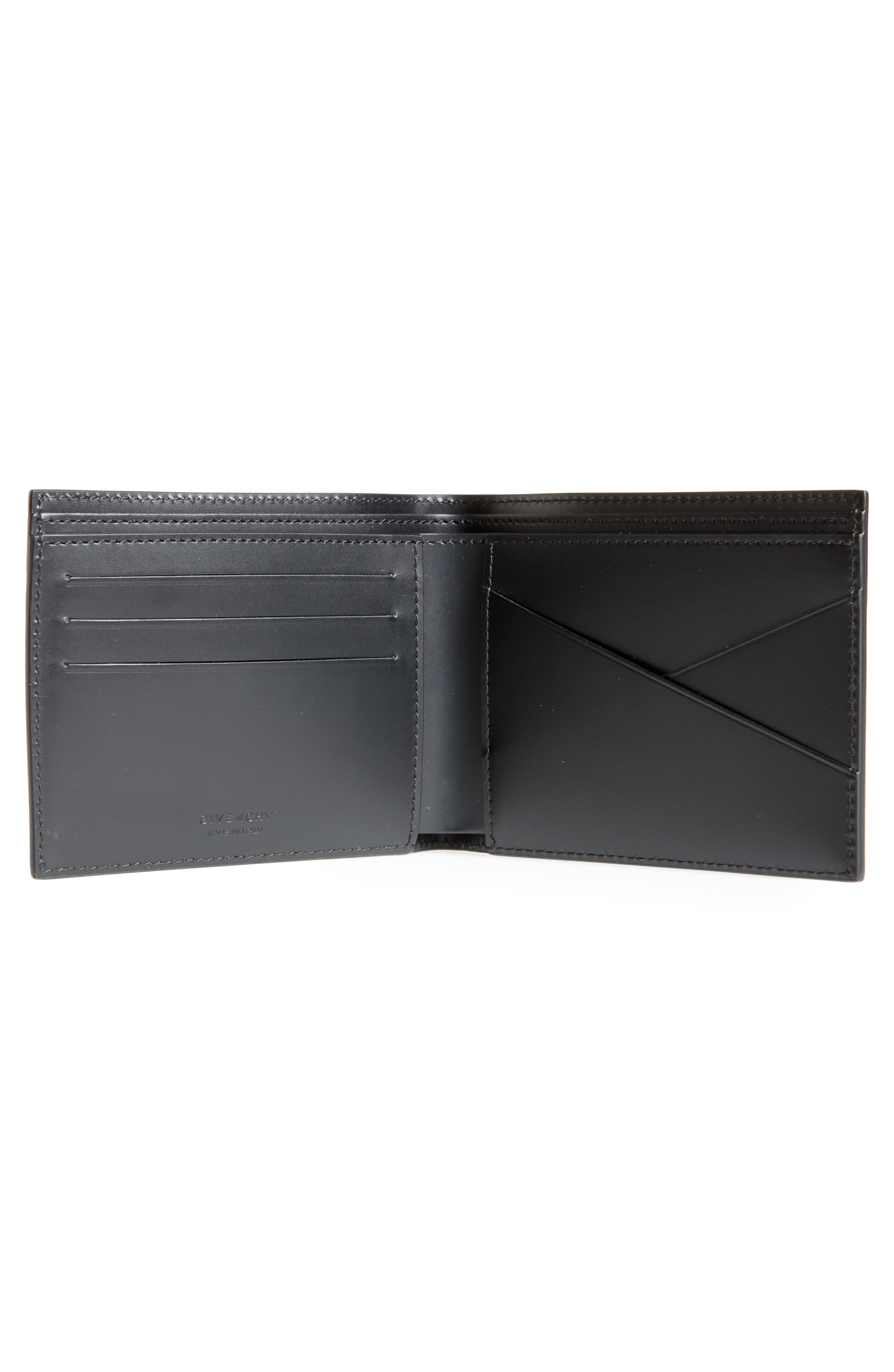 Alternate Image 3  - Givenchy Iris Logo Print Calfskin Leather Wallet