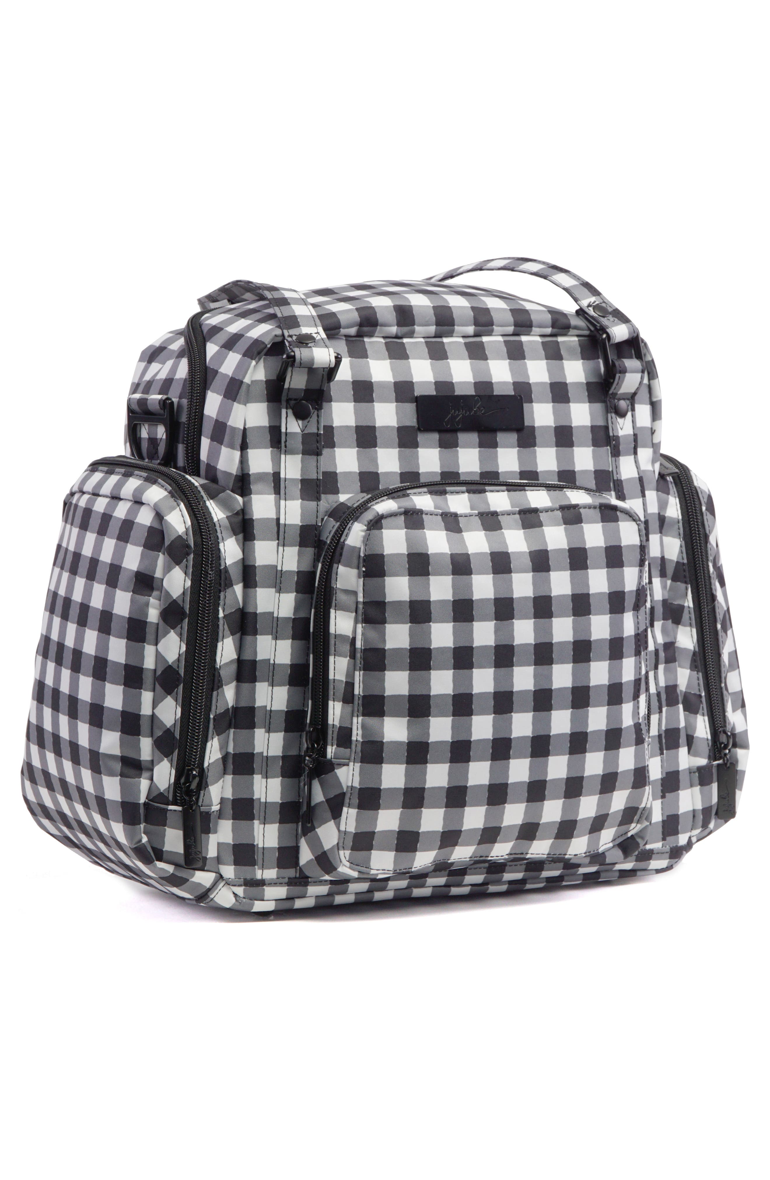 Onyx Be Supplied Pumping Bag,                             Alternate thumbnail 4, color,                             Gingham Style