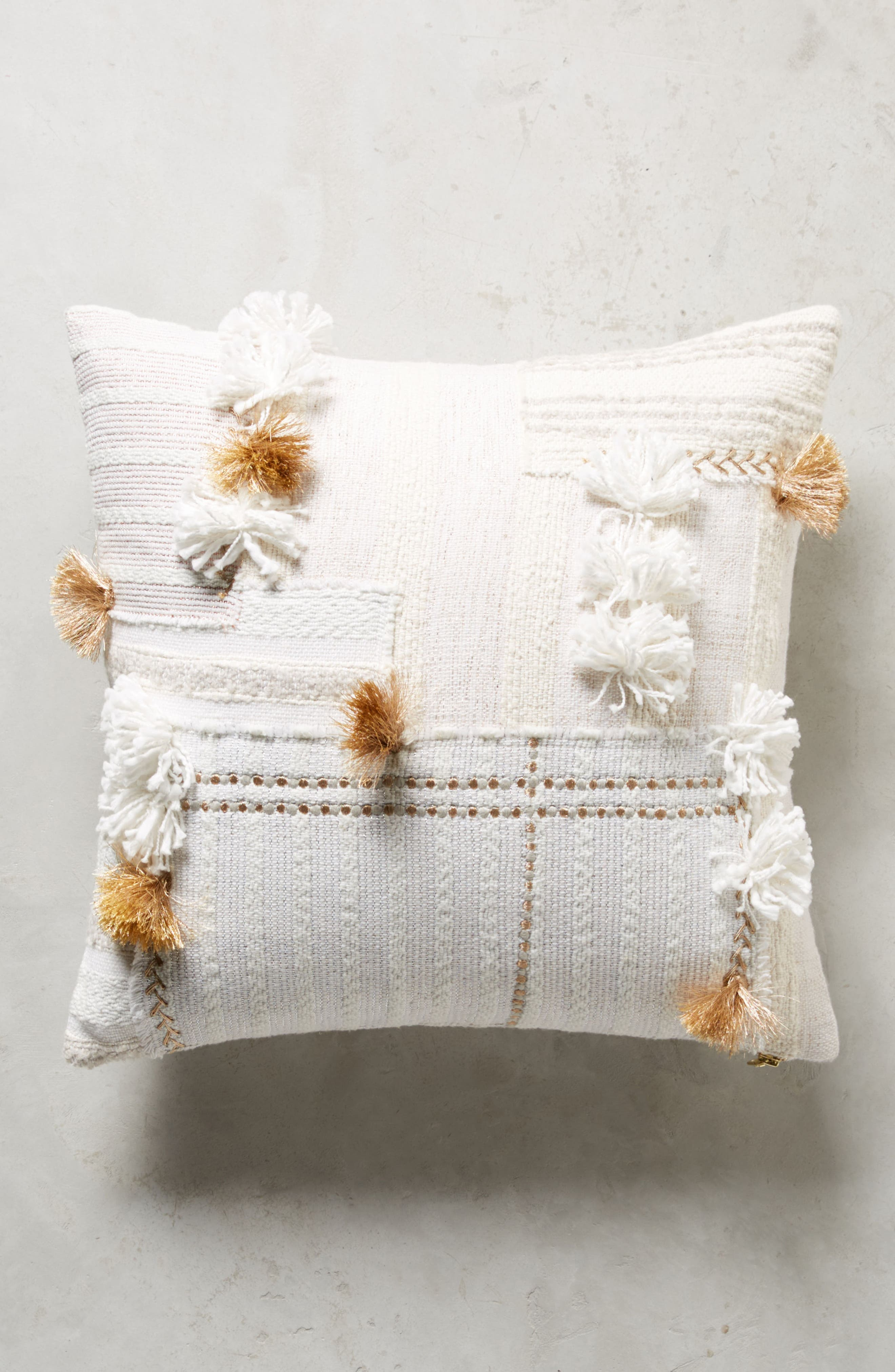 Yoursa Accent Pillow,                             Main thumbnail 1, color,                             Ivory