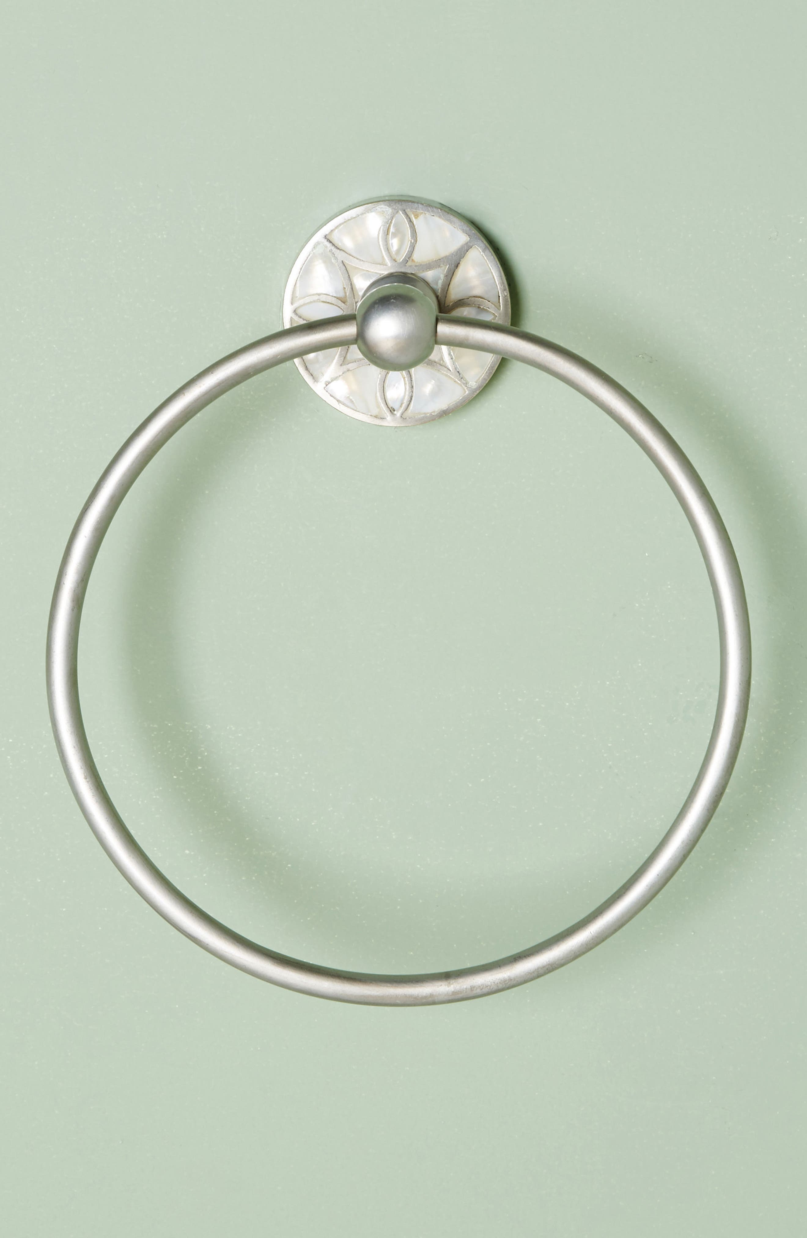 Launis Towel Ring,                             Alternate thumbnail 5, color,                             Grey