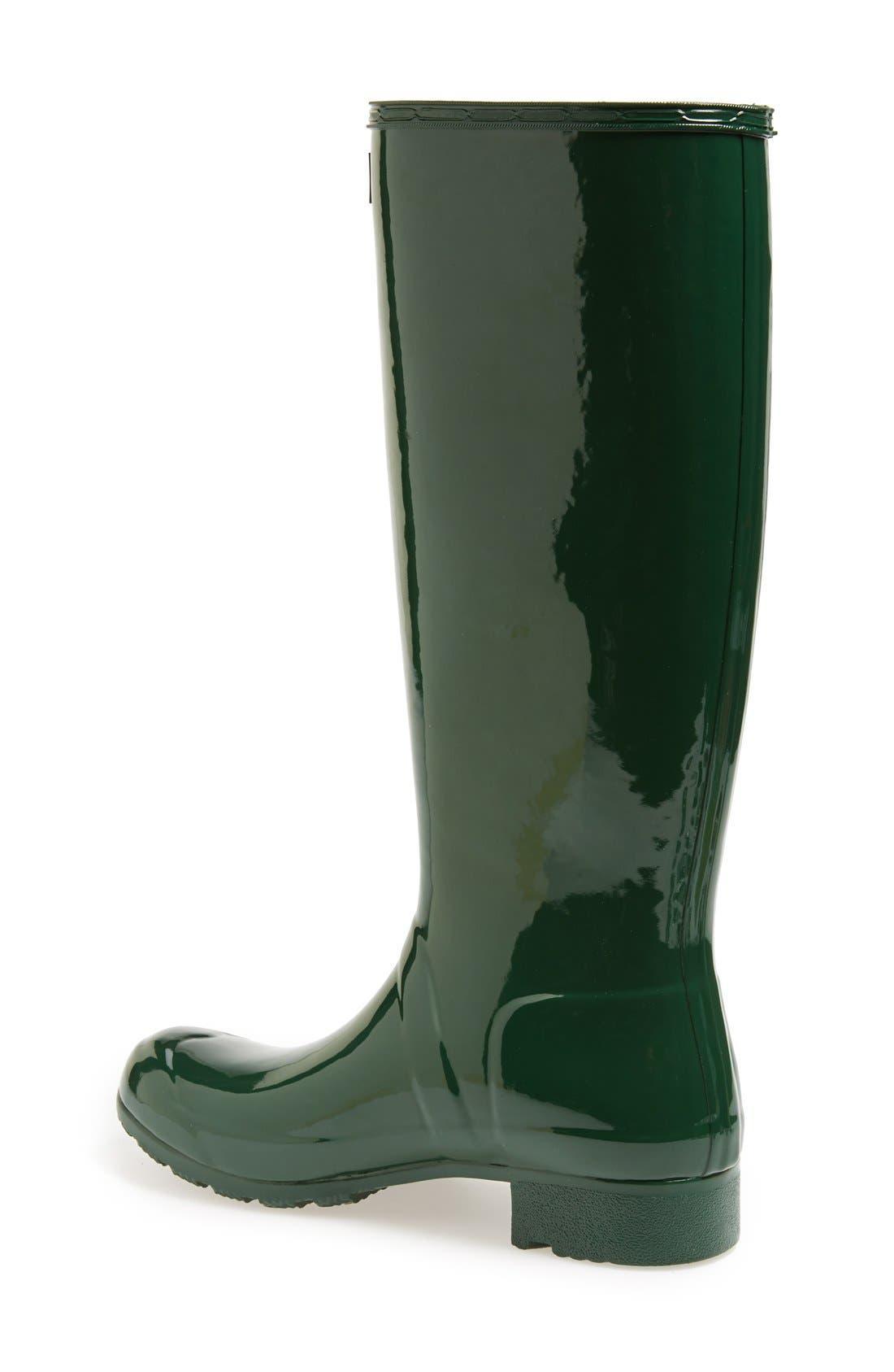 Alternate Image 2  - Hunter Original Tour Gloss Packable Rain Boot (Women)