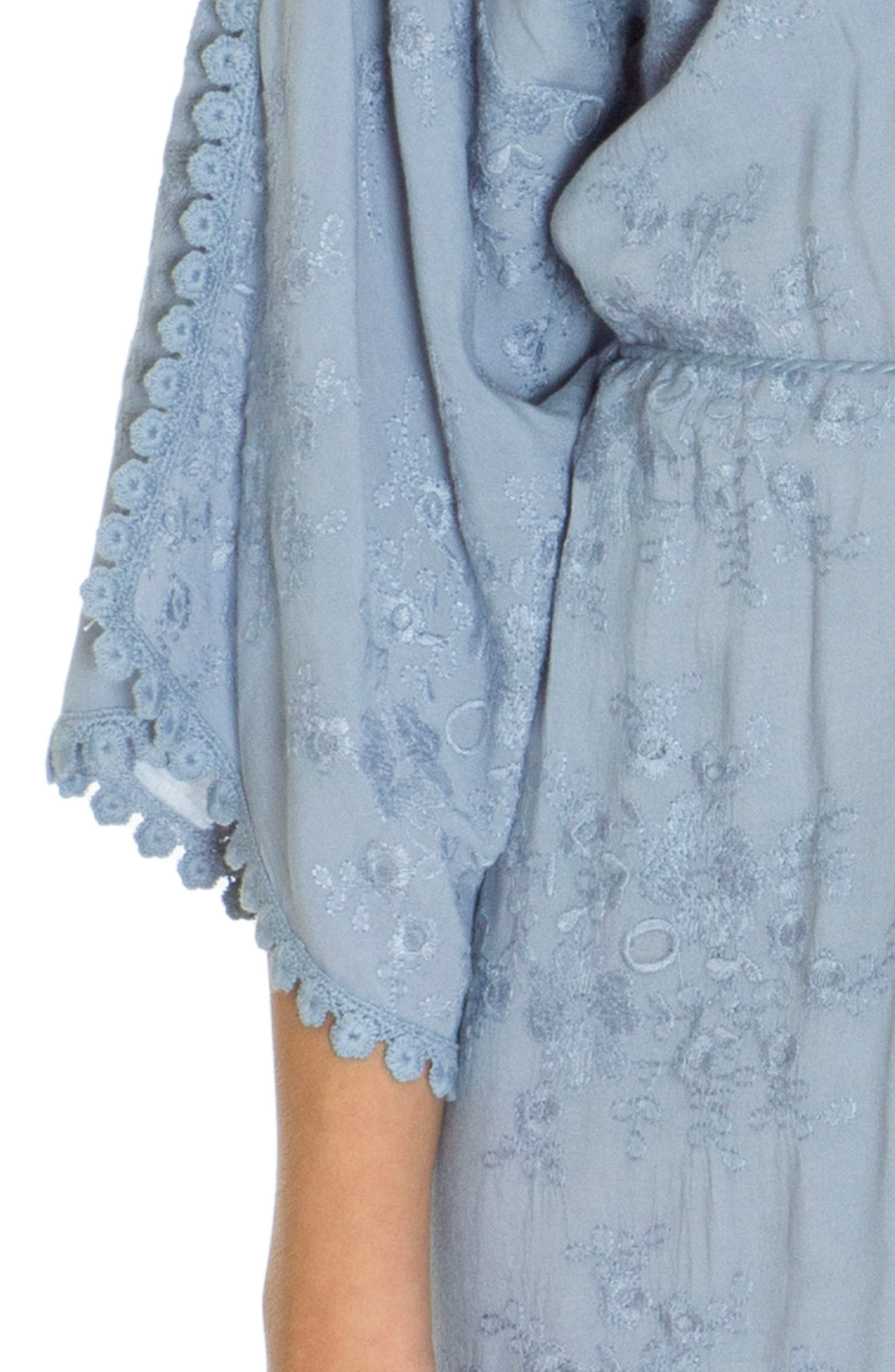Robe,                             Alternate thumbnail 4, color,                             Chambray Blue