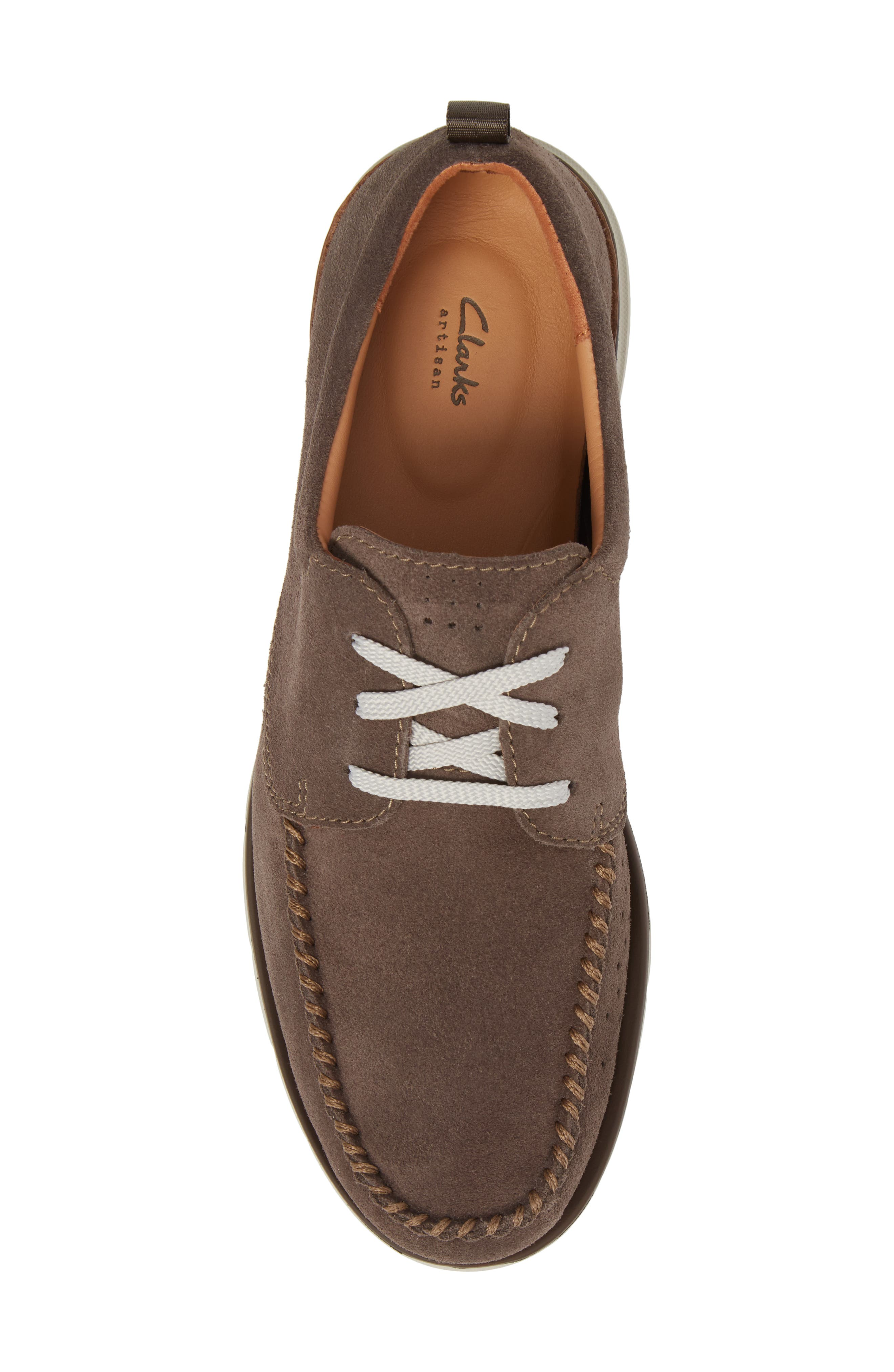 Edgewood Mix Moc Toe Derby,                             Alternate thumbnail 5, color,                             Taupe Suede