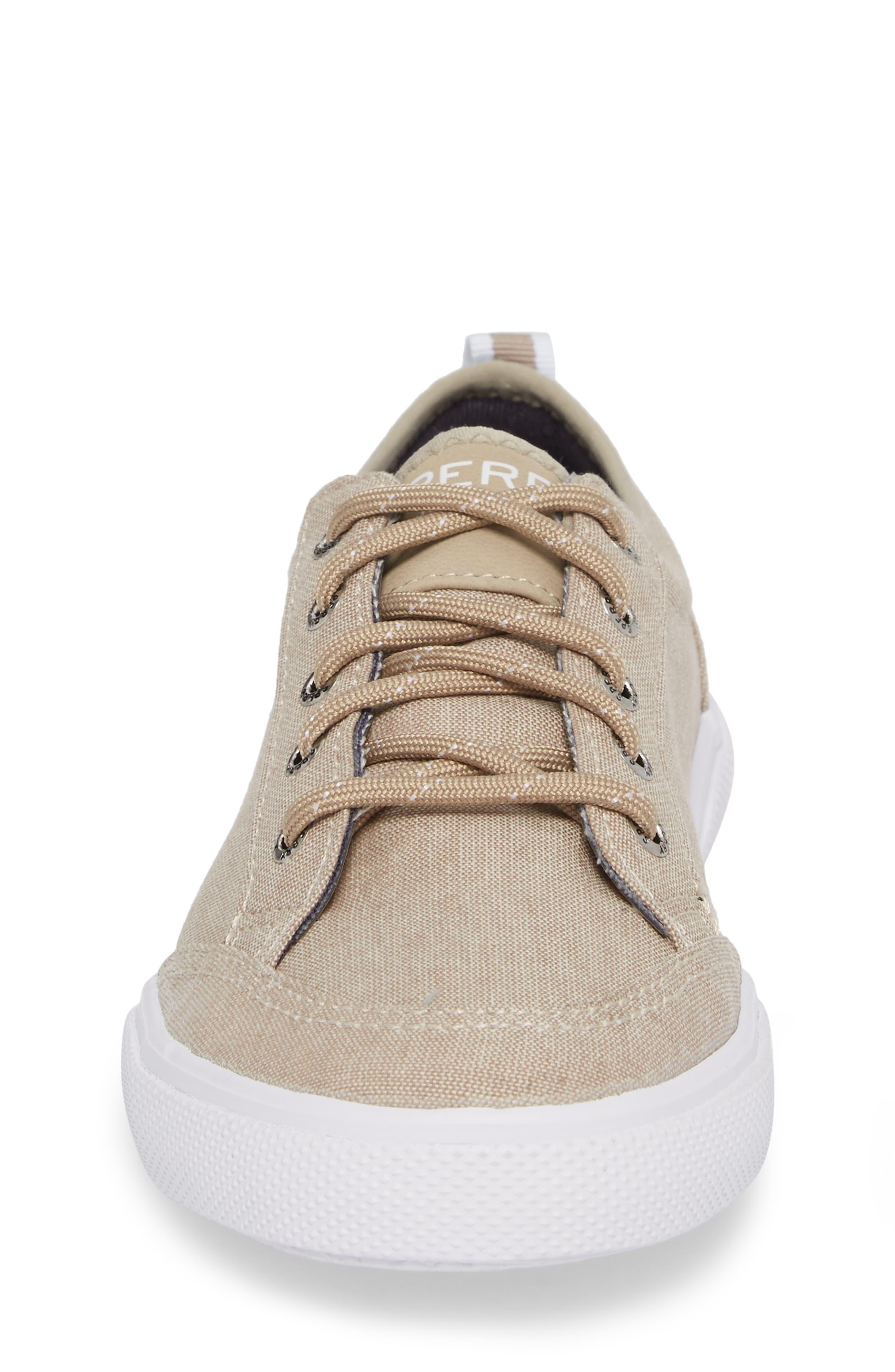 Deckfin Sneaker,                             Alternate thumbnail 4, color,                             Khaki