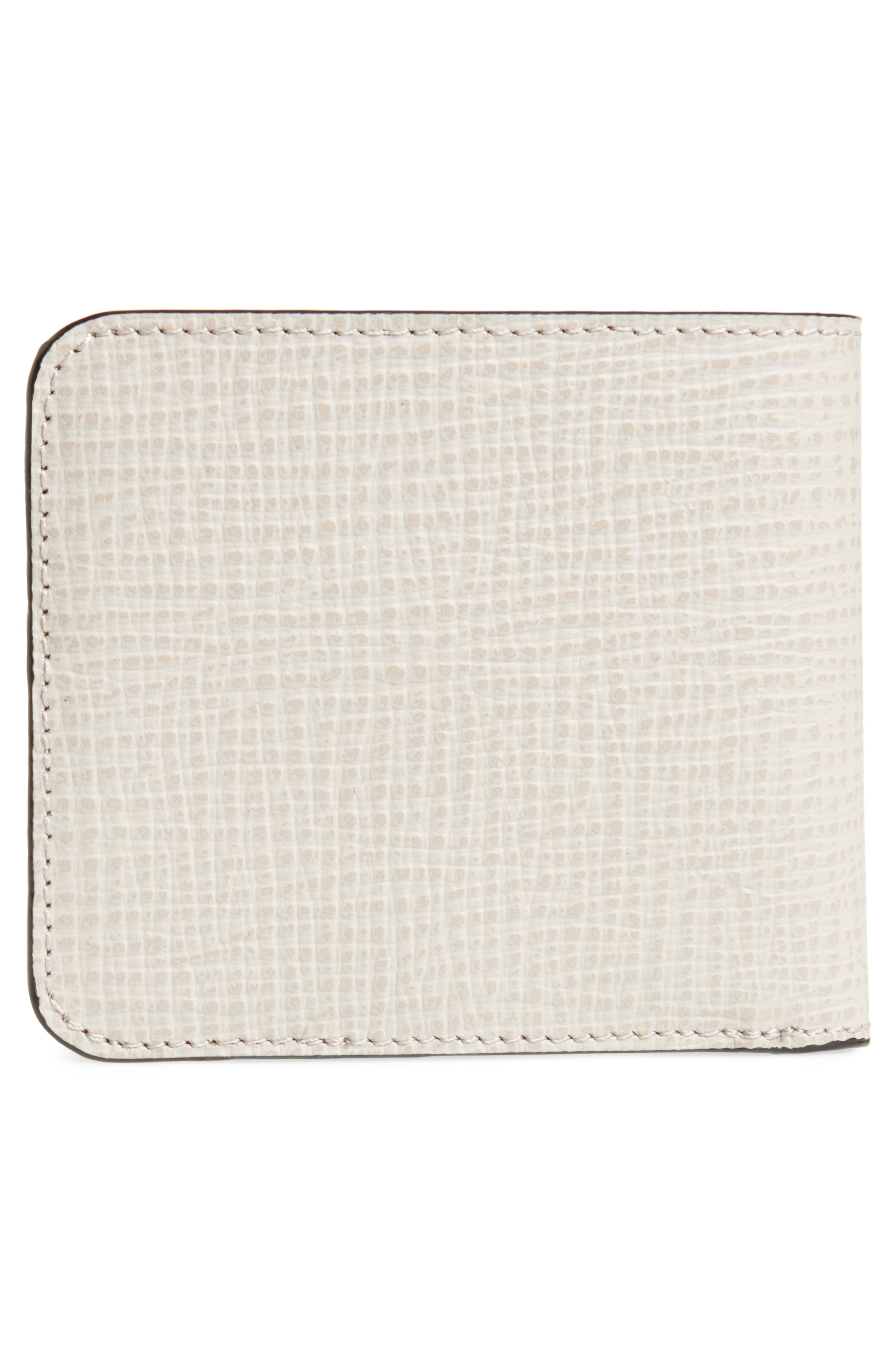 Astridd Palmelato Leather Wallet,                             Alternate thumbnail 3, color,                             Natural