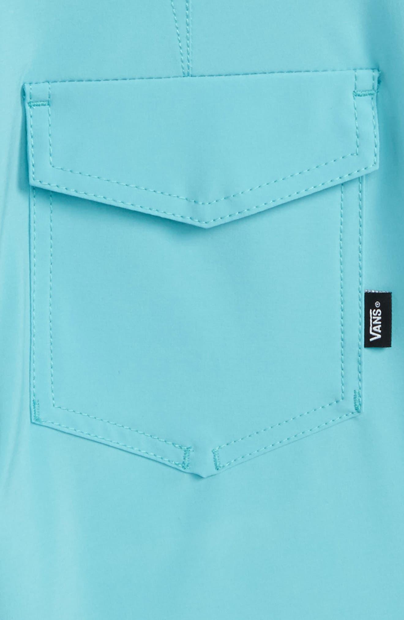Sidestripe Board Shorts,                             Alternate thumbnail 3, color,                             Aquarelle